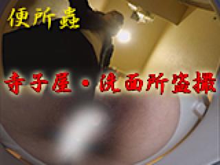 トイレ盗撮|寺子屋・洗面所盗SATU|おまんこパイパン