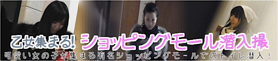 トイレ盗撮|乙女集まる!ショッピングモール潜入撮|マンコ