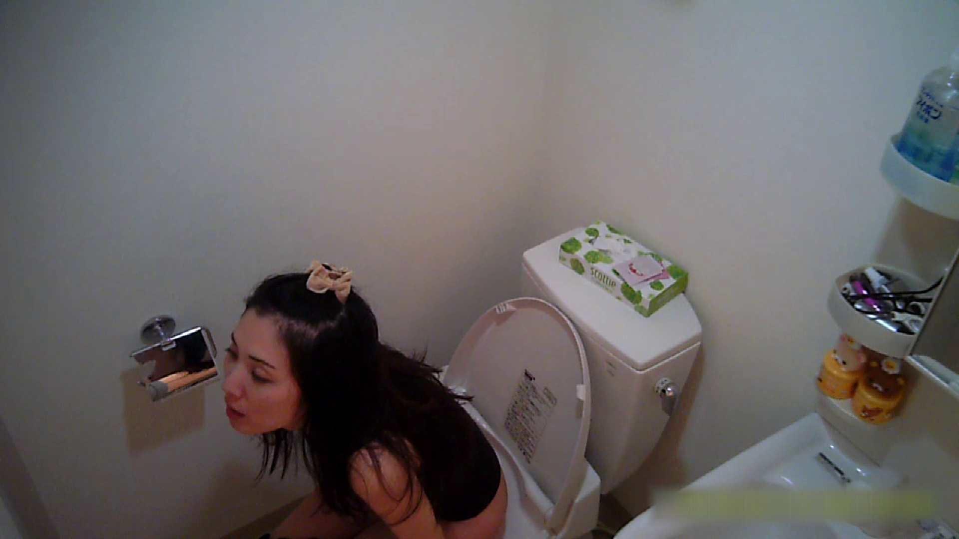 清楚な顔してかなり敏感なE子25歳(仮名)Vol.05 裸でトイレ編 洗面所のぞき ワレメ動画紹介 90枚 46