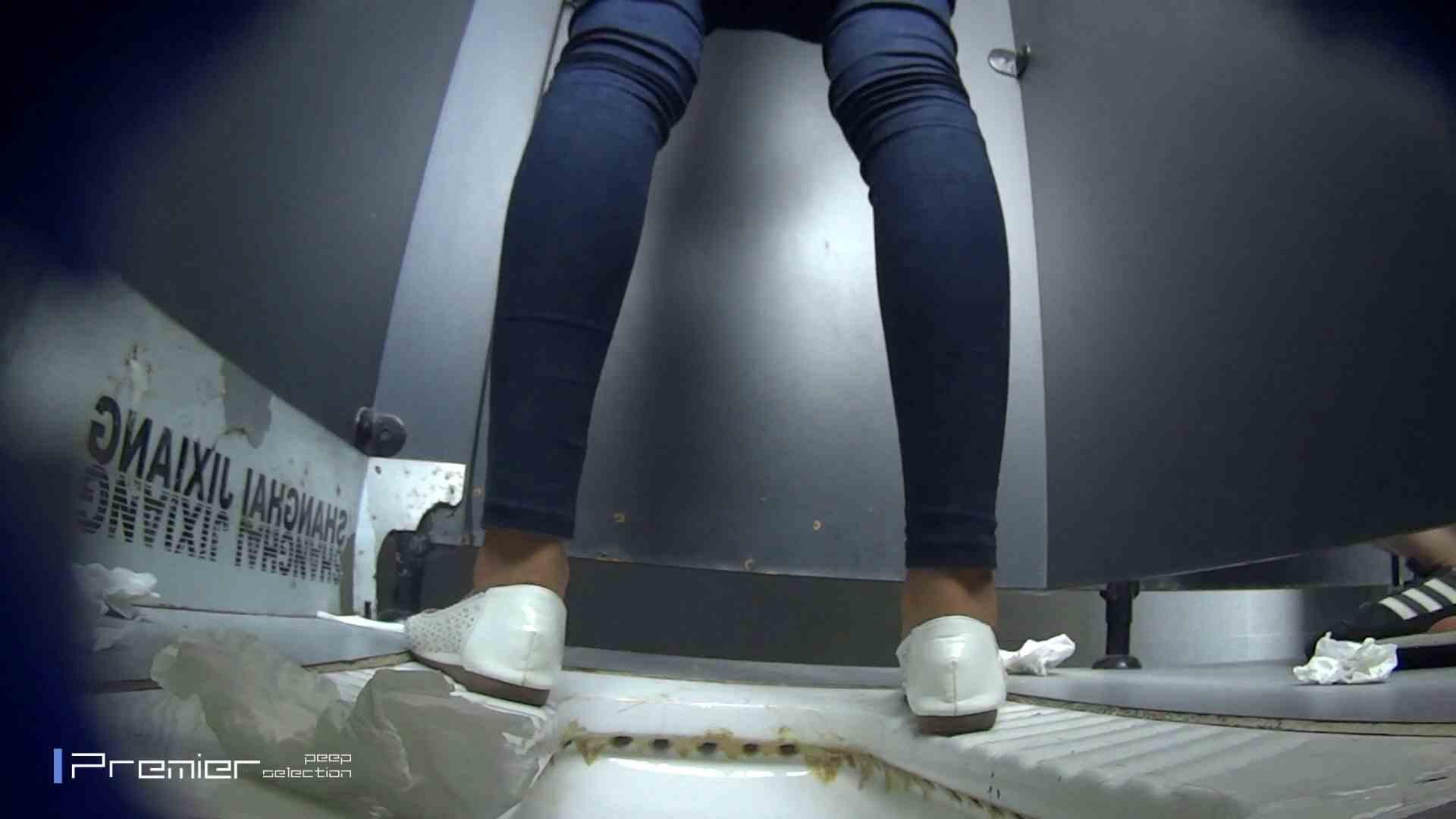 スキニージーンズの美女 大学休憩時間の洗面所事情56 盗撮編 オマンコ動画キャプチャ 106枚 38