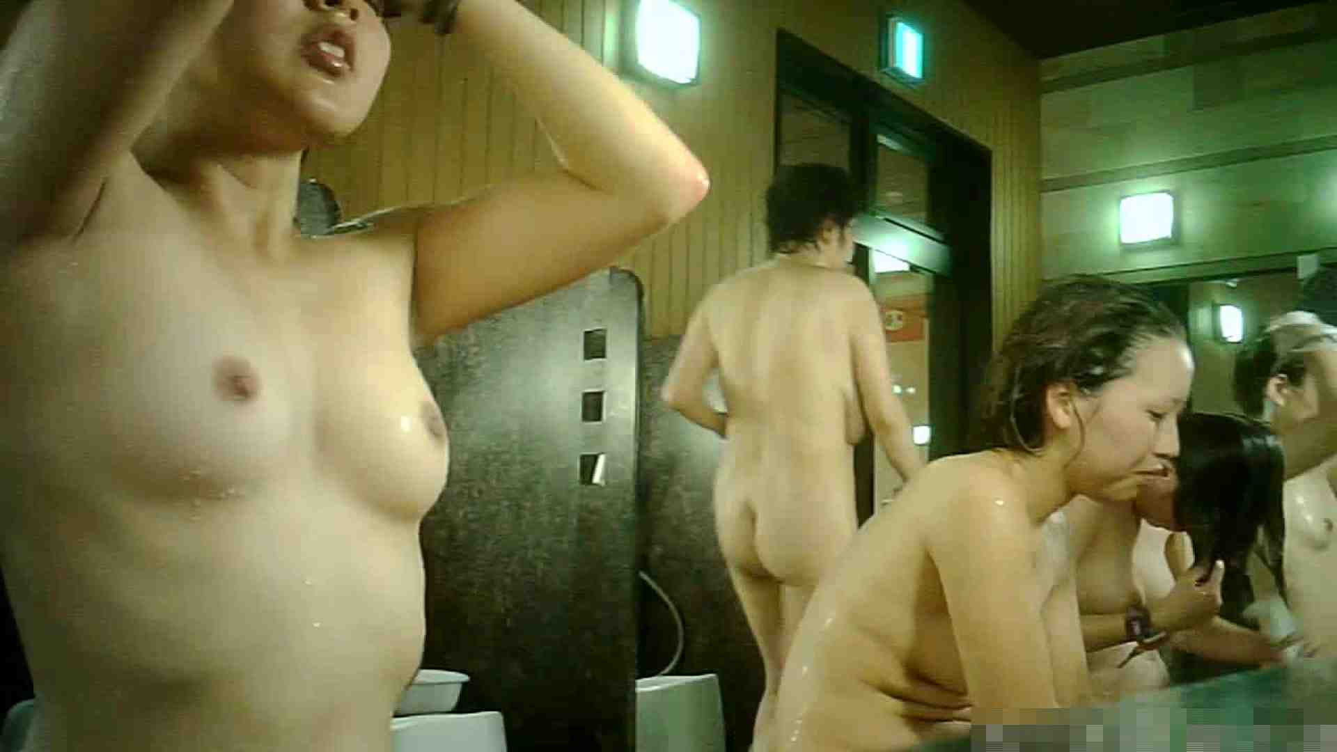 No.7 洗い場!!最近の嬢はオッパイ綺麗です。こちらも8個! 美肌 | 女湯のぞき  93枚 1