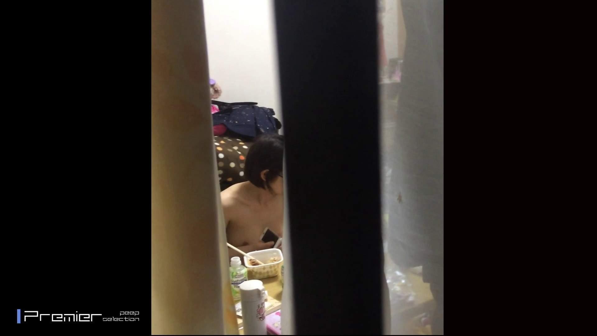 眼鏡美女の食事を隠し撮り 乙女の風呂場 Vol.05 盗撮編 えろ無修正画像 96枚 23