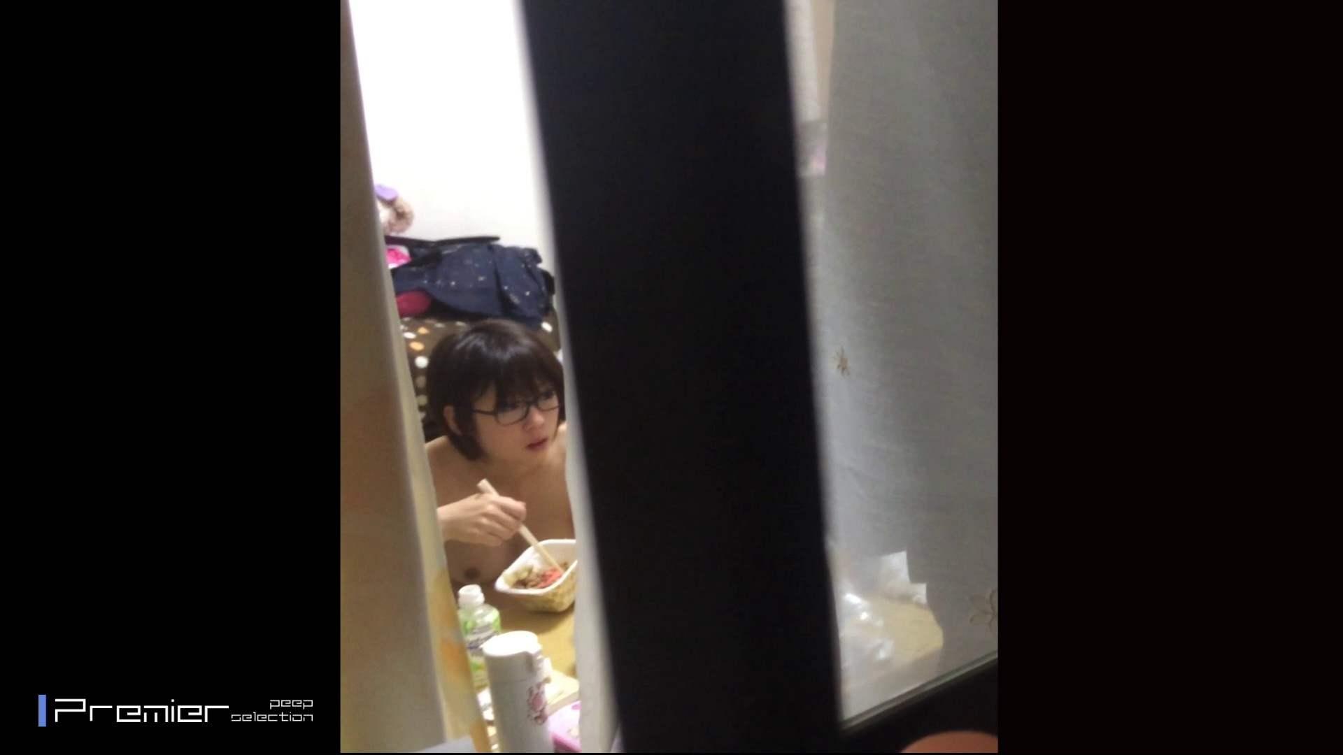 眼鏡美女の食事を隠し撮り 乙女の風呂場 Vol.05 盗撮編 えろ無修正画像 96枚 68