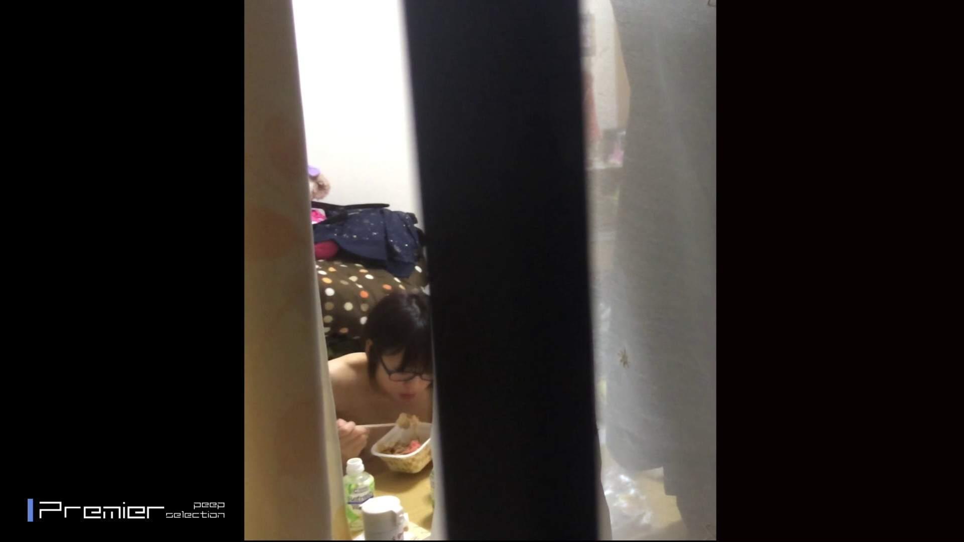 眼鏡美女の食事を隠し撮り 乙女の風呂場 Vol.05 美肌 エロ画像 96枚 94