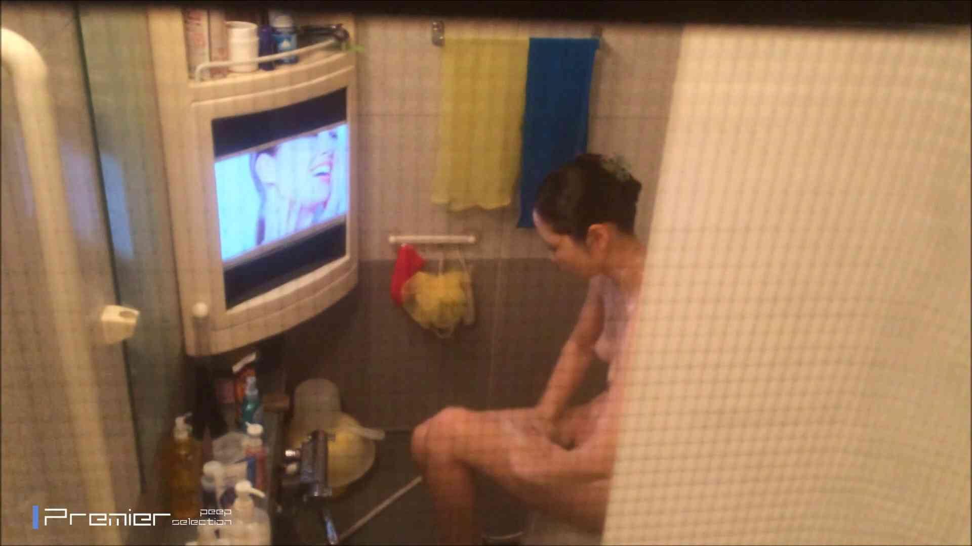 美女のテレビを見ながらの入浴 乙女の風呂場 Vol.21 美乳 ワレメ動画紹介 85枚 66