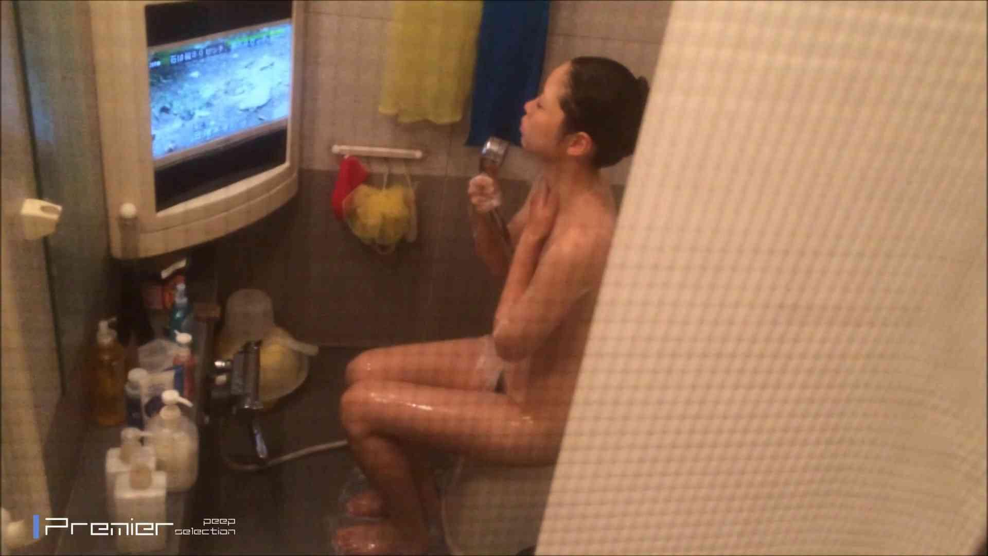 美女のテレビを見ながらの入浴 乙女の風呂場 Vol.21 桃色乳首 性交動画流出 85枚 70