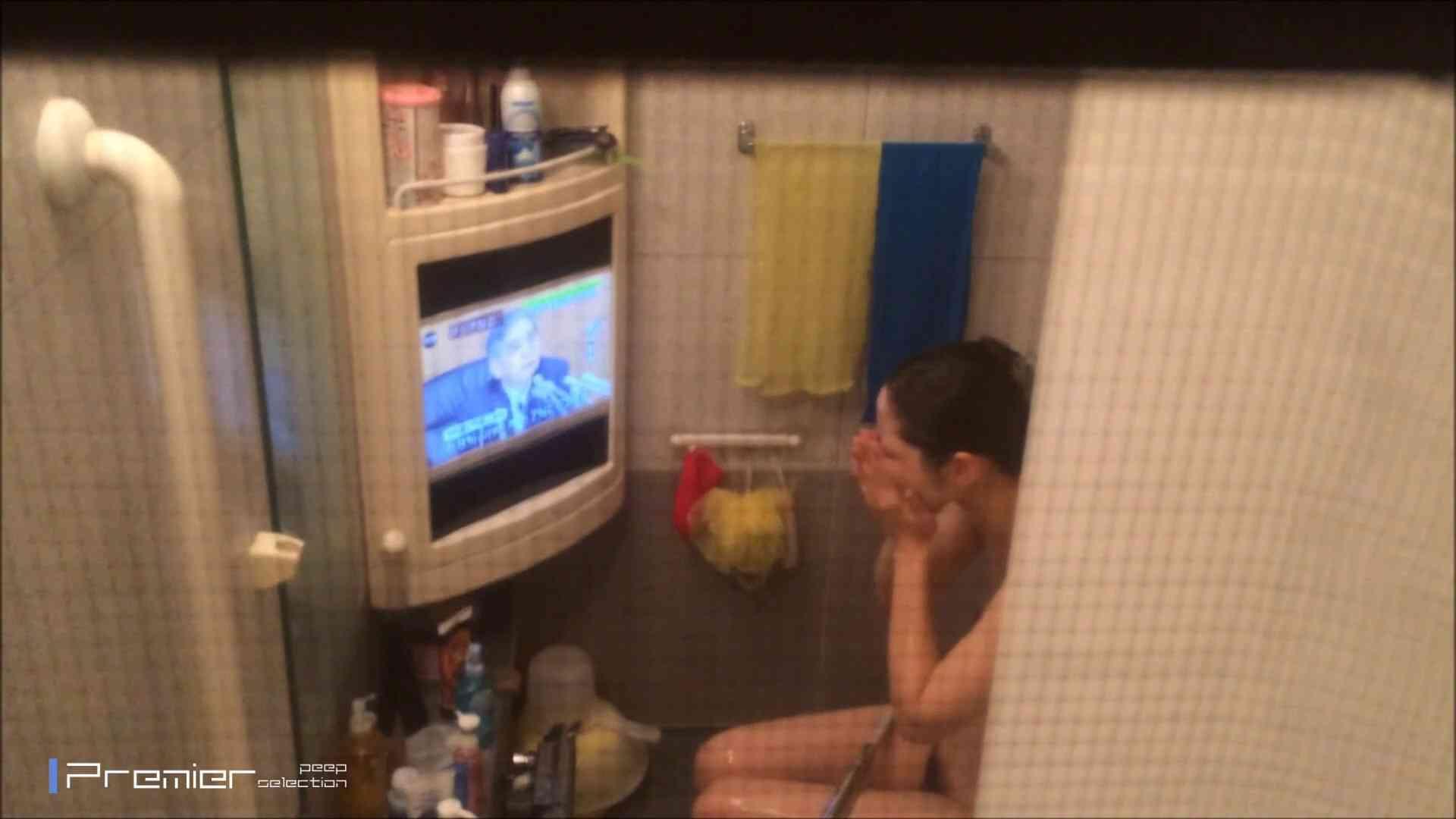 美女のテレビを見ながらの入浴 乙女の風呂場 Vol.21 丸見え エロ画像 85枚 77