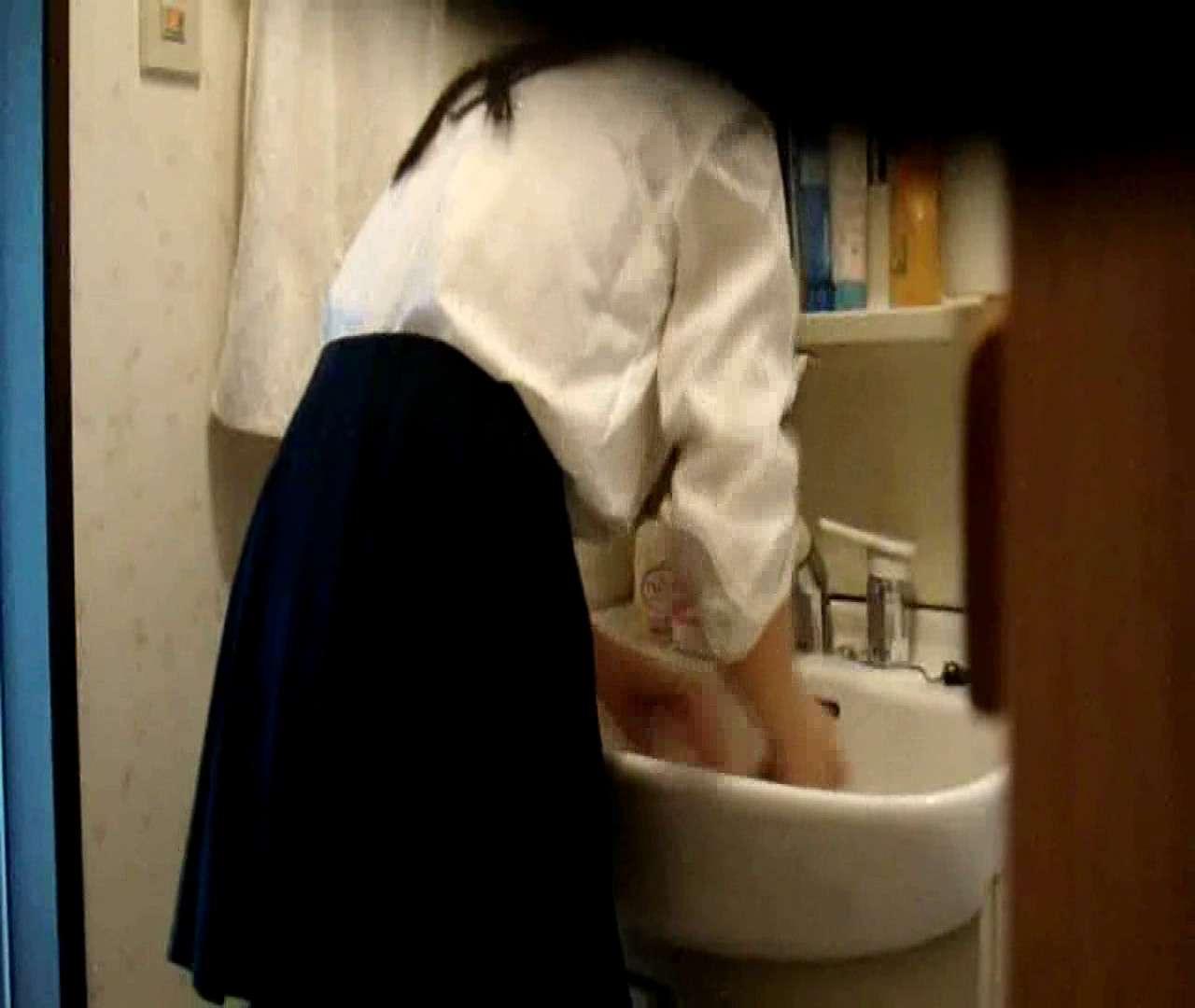 vol.5 まどかが帰宅後の洗顔後にブラを洗ってます。 ギャル達 | 民家  112枚 13
