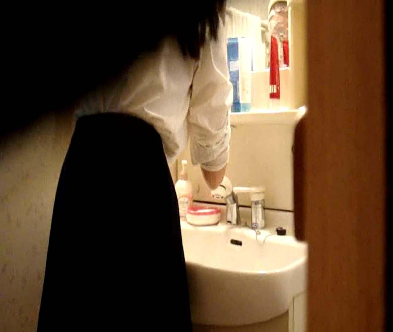 vol.5 まどかが帰宅後の洗顔後にブラを洗ってます。 いじくり AV無料 112枚 54
