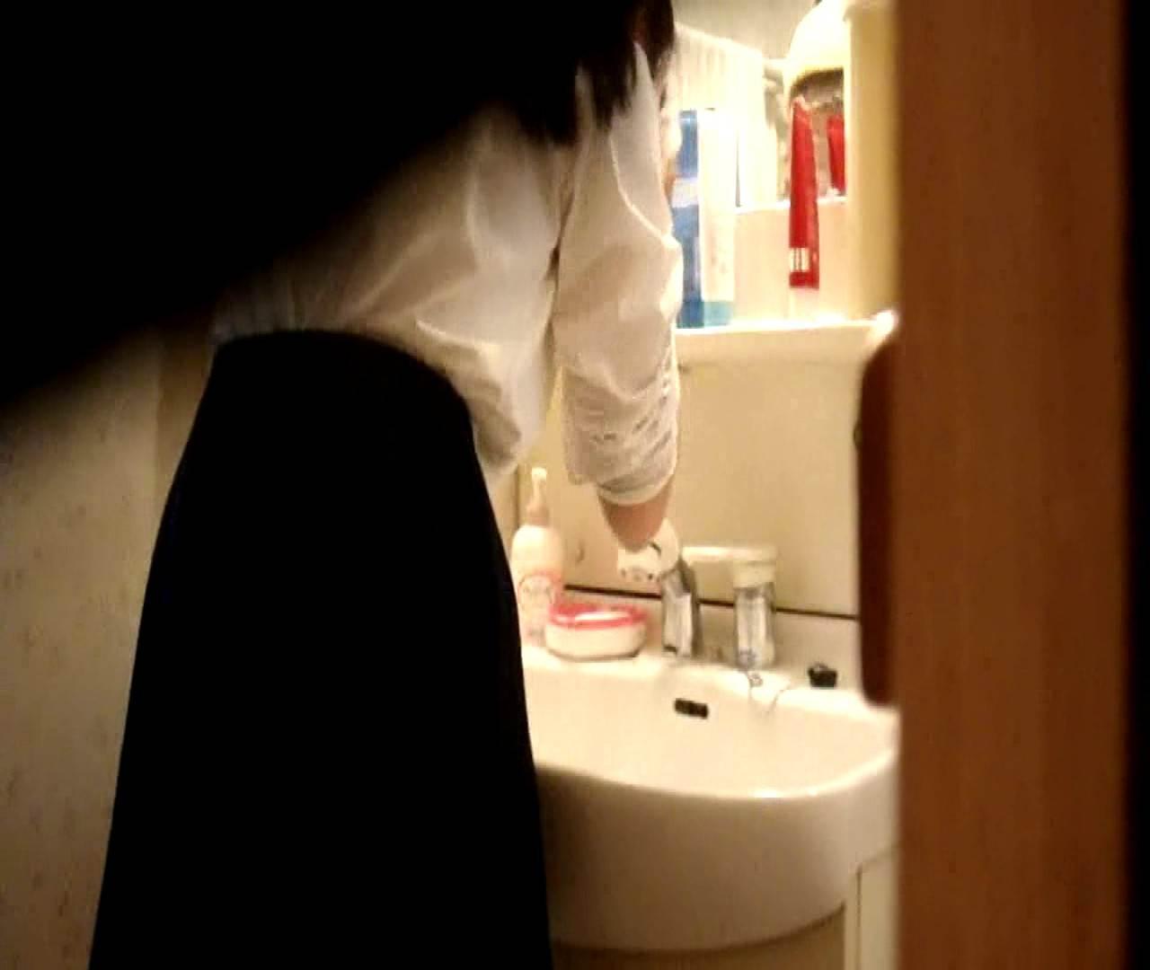 vol.5 まどかが帰宅後の洗顔後にブラを洗ってます。 ○族 おめこ無修正画像 112枚 55