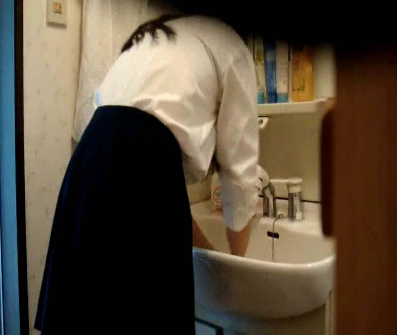 vol.5 まどかが帰宅後の洗顔後にブラを洗ってます。 ○族 おめこ無修正画像 112枚 83