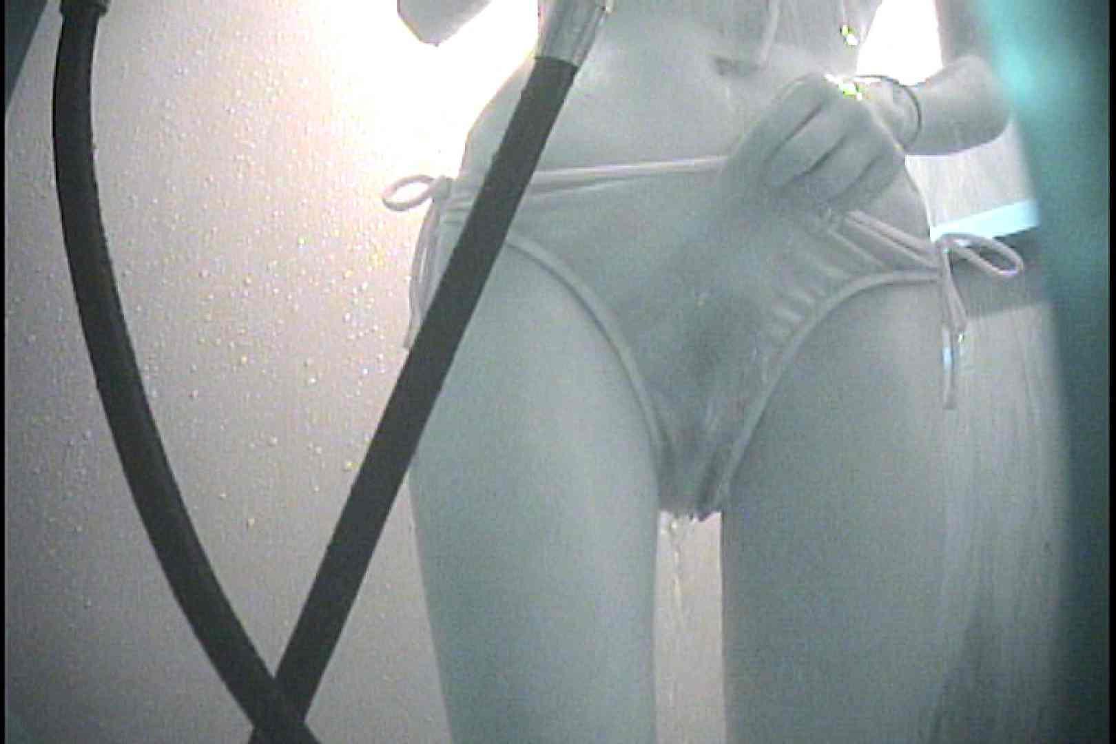 No.9 脱がない水着の隙間からチラりと一本道 シャワー室 SEX無修正画像 108枚 107