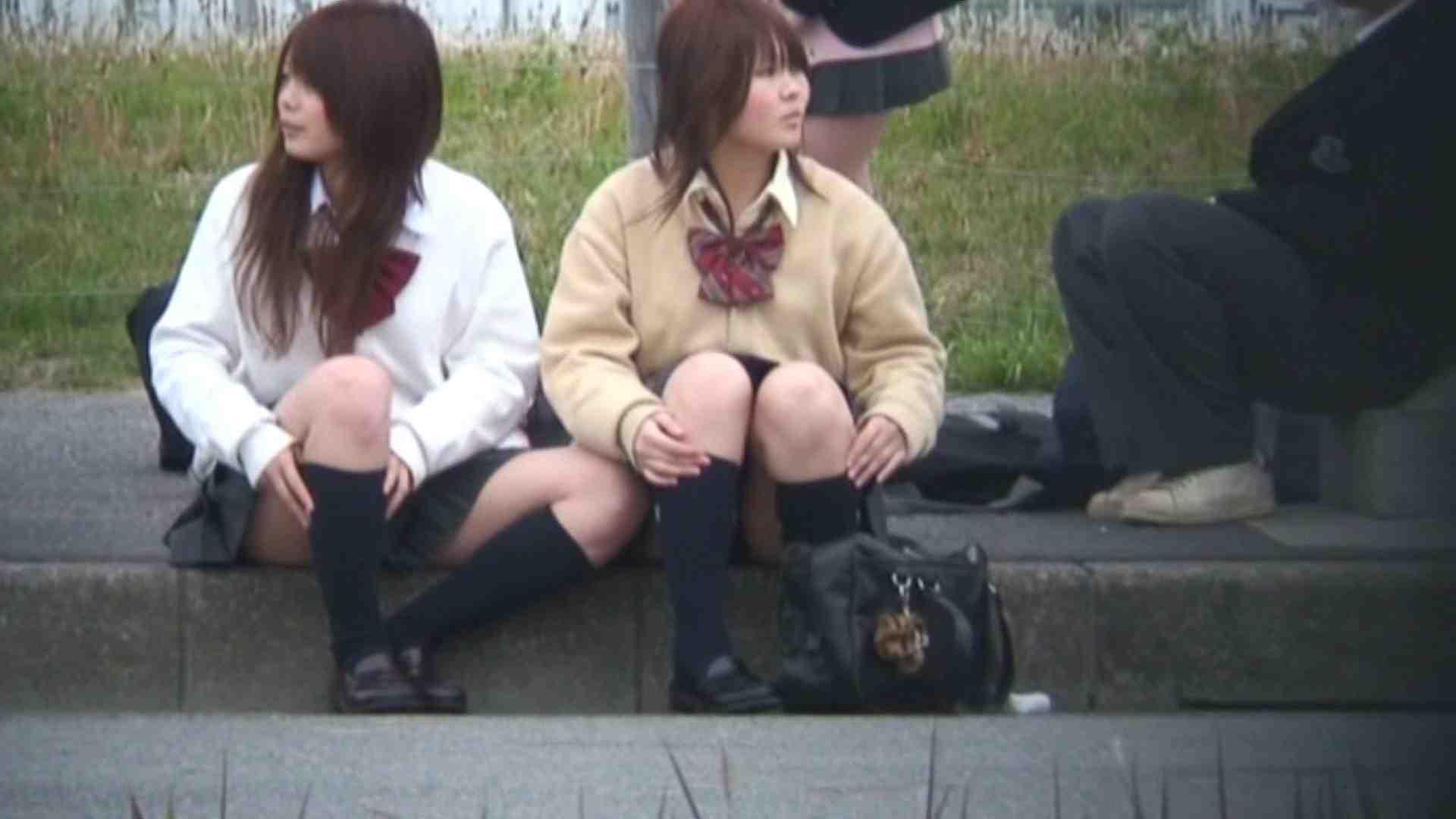望遠パンチラNo10 パンチラ女子 エロ無料画像 98枚 98