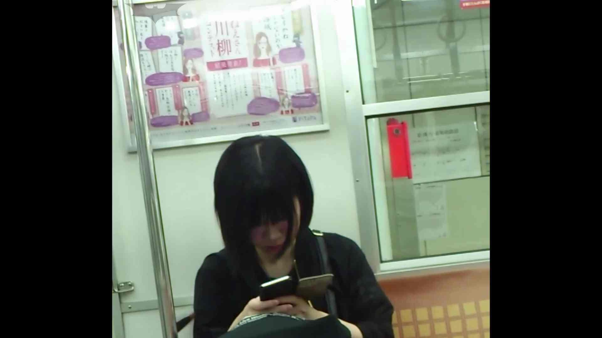 盗撮列車 Vol.49茶髪ショートヘアのスカートの中 お姉さんのSEX ワレメ動画紹介 104枚 12