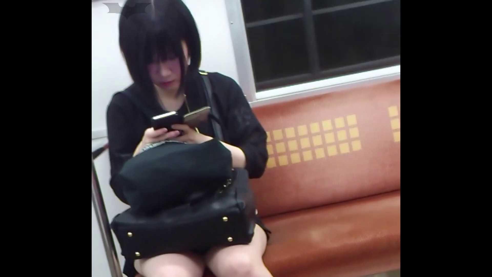 盗撮列車 Vol.49茶髪ショートヘアのスカートの中 細身体型 AV無料動画キャプチャ 104枚 14