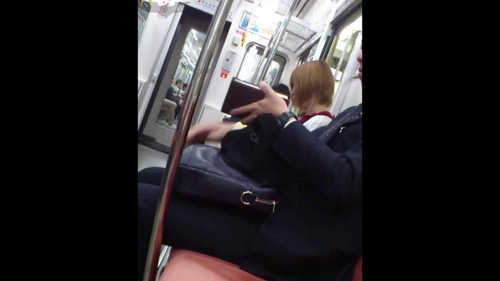 盗撮列車 Vol.49茶髪ショートヘアのスカートの中 お姉さんのSEX ワレメ動画紹介 104枚 102
