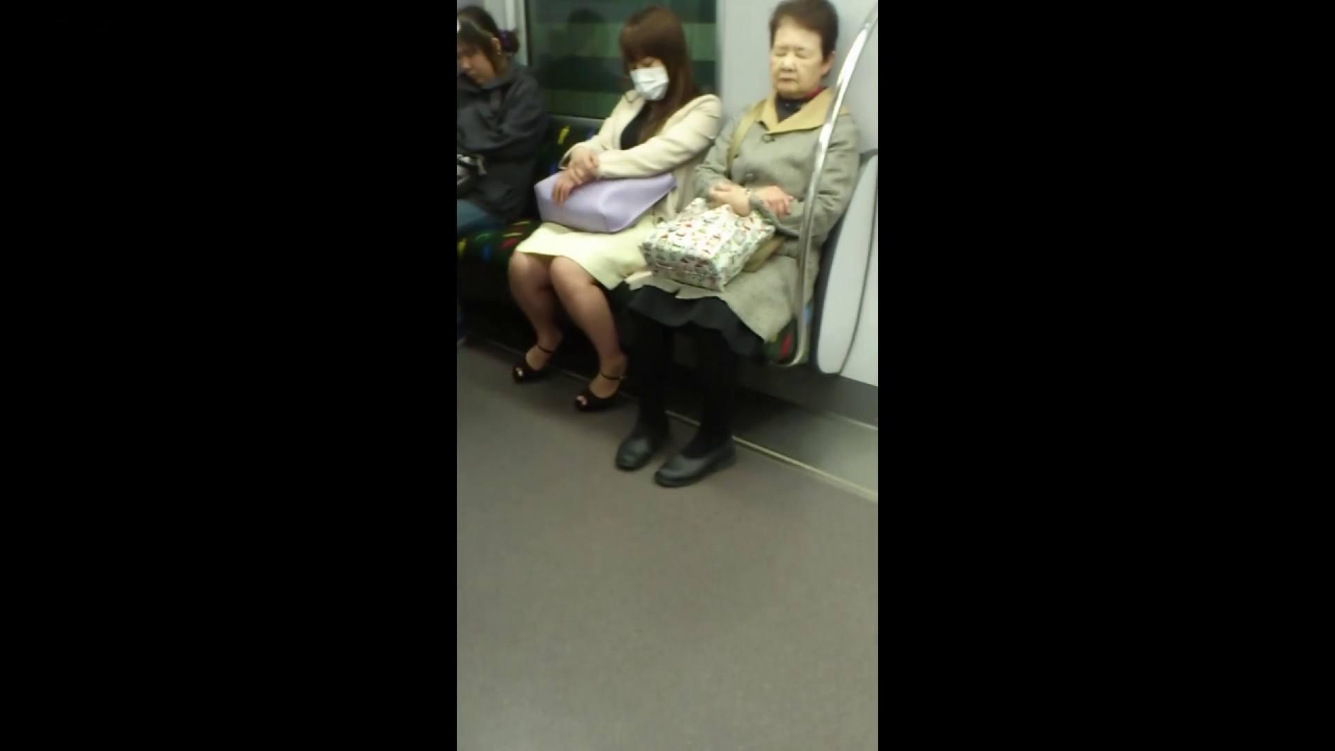 盗撮列車 Vol.55 黄色の爽やかなスカートが大好きです。 盗撮編 AV無料動画キャプチャ 89枚 10