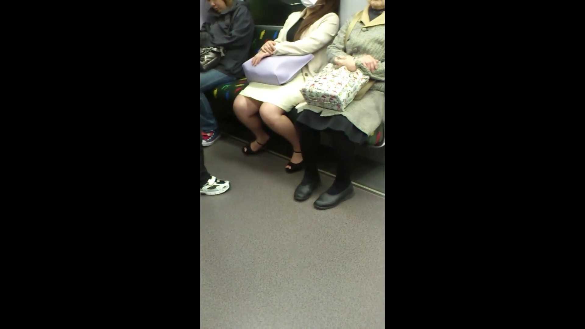 盗撮列車 Vol.55 黄色の爽やかなスカートが大好きです。 盗撮編 AV無料動画キャプチャ 89枚 16