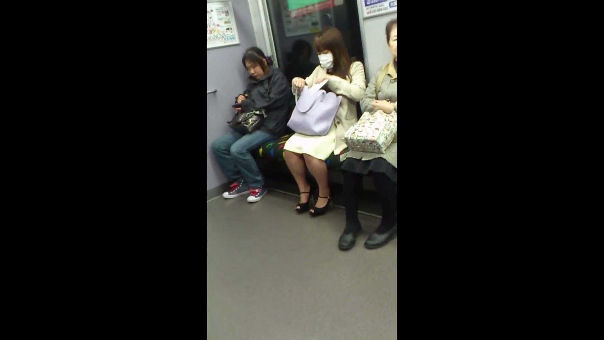 盗撮列車 Vol.55 黄色の爽やかなスカートが大好きです。 パンチラ女子 濡れ場動画紹介 89枚 47
