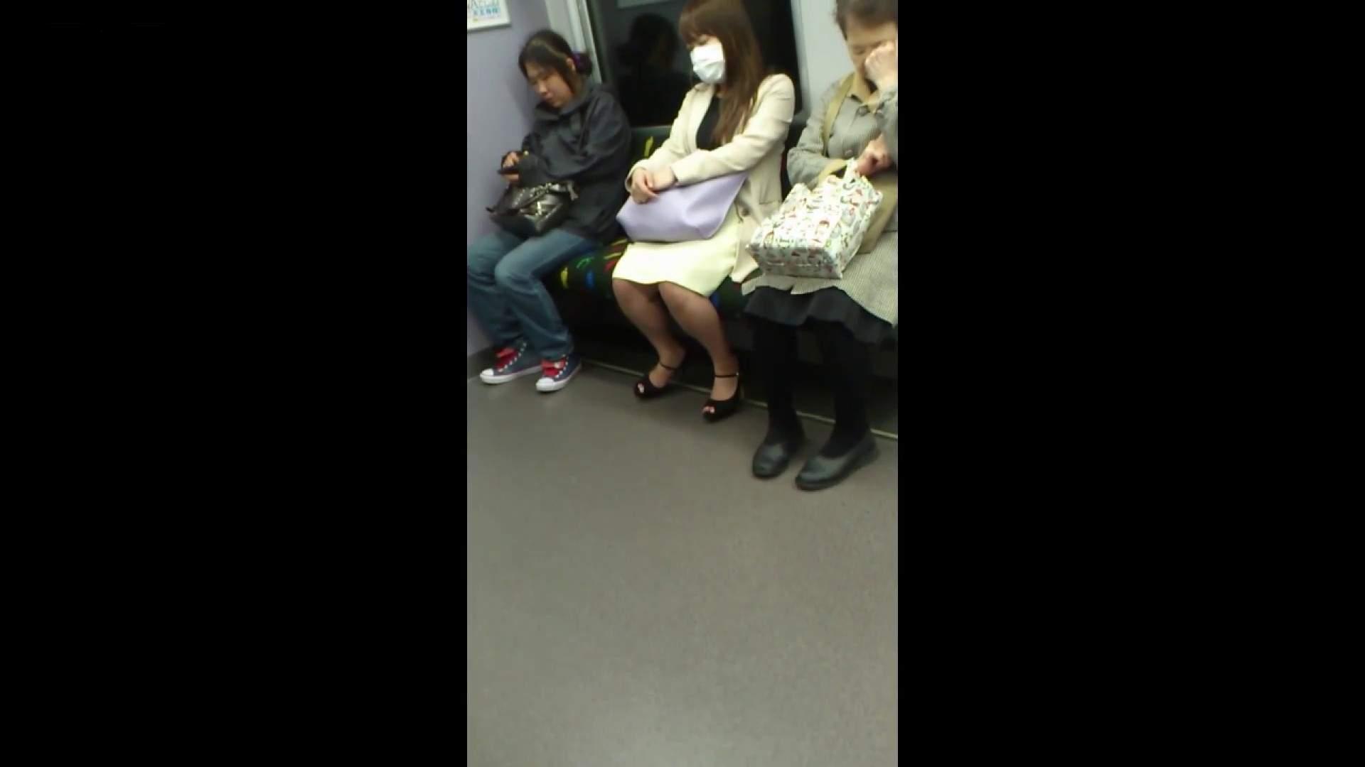 盗撮列車 Vol.55 黄色の爽やかなスカートが大好きです。 盗撮編 AV無料動画キャプチャ 89枚 52