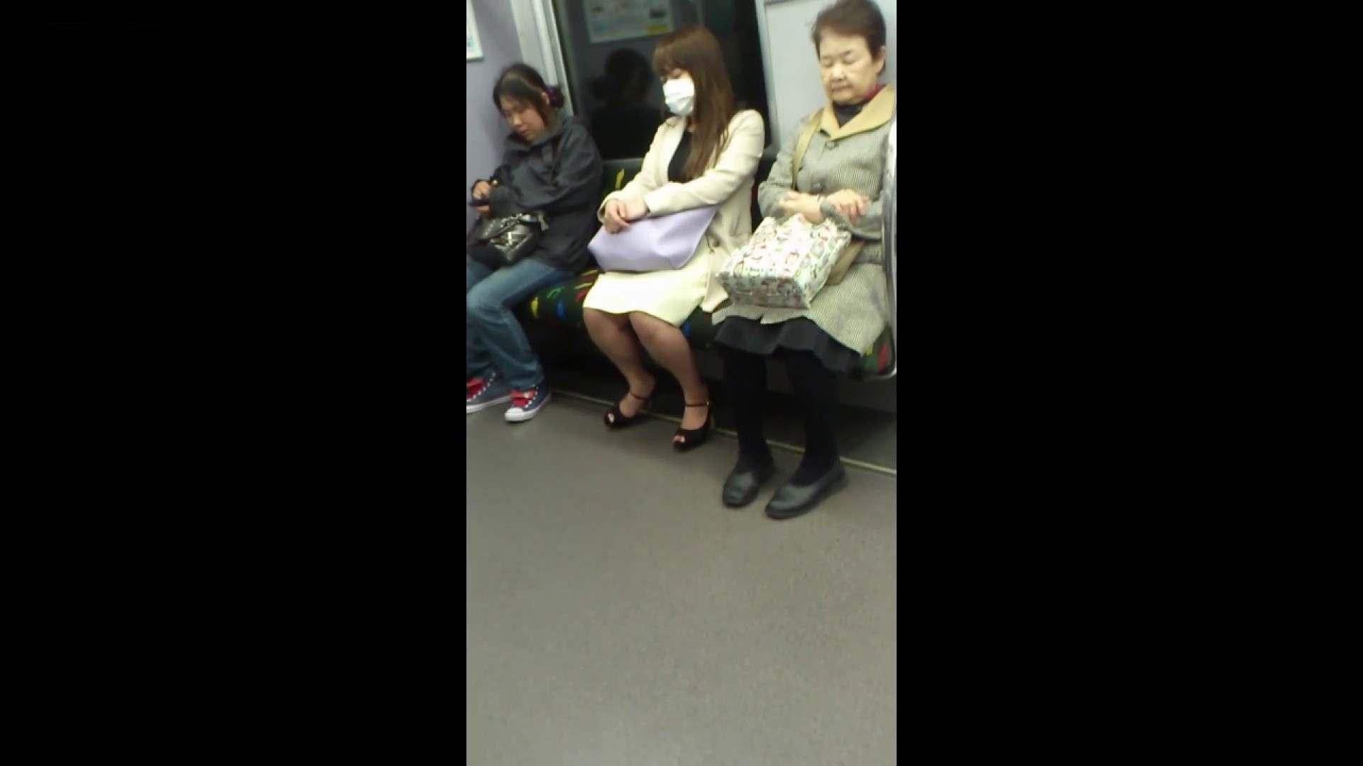 盗撮列車 Vol.55 黄色の爽やかなスカートが大好きです。 盗撮編 AV無料動画キャプチャ 89枚 58