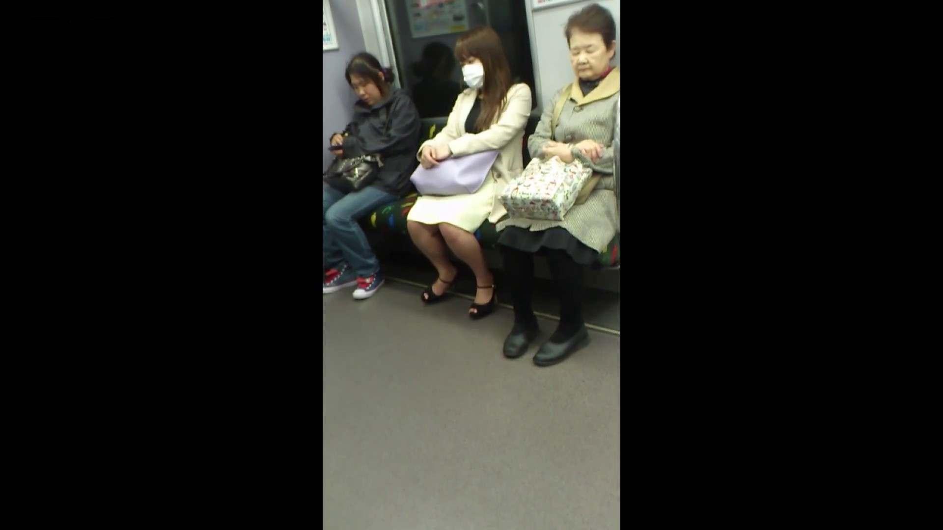盗撮列車 Vol.55 黄色の爽やかなスカートが大好きです。 むっちりガール  89枚 60