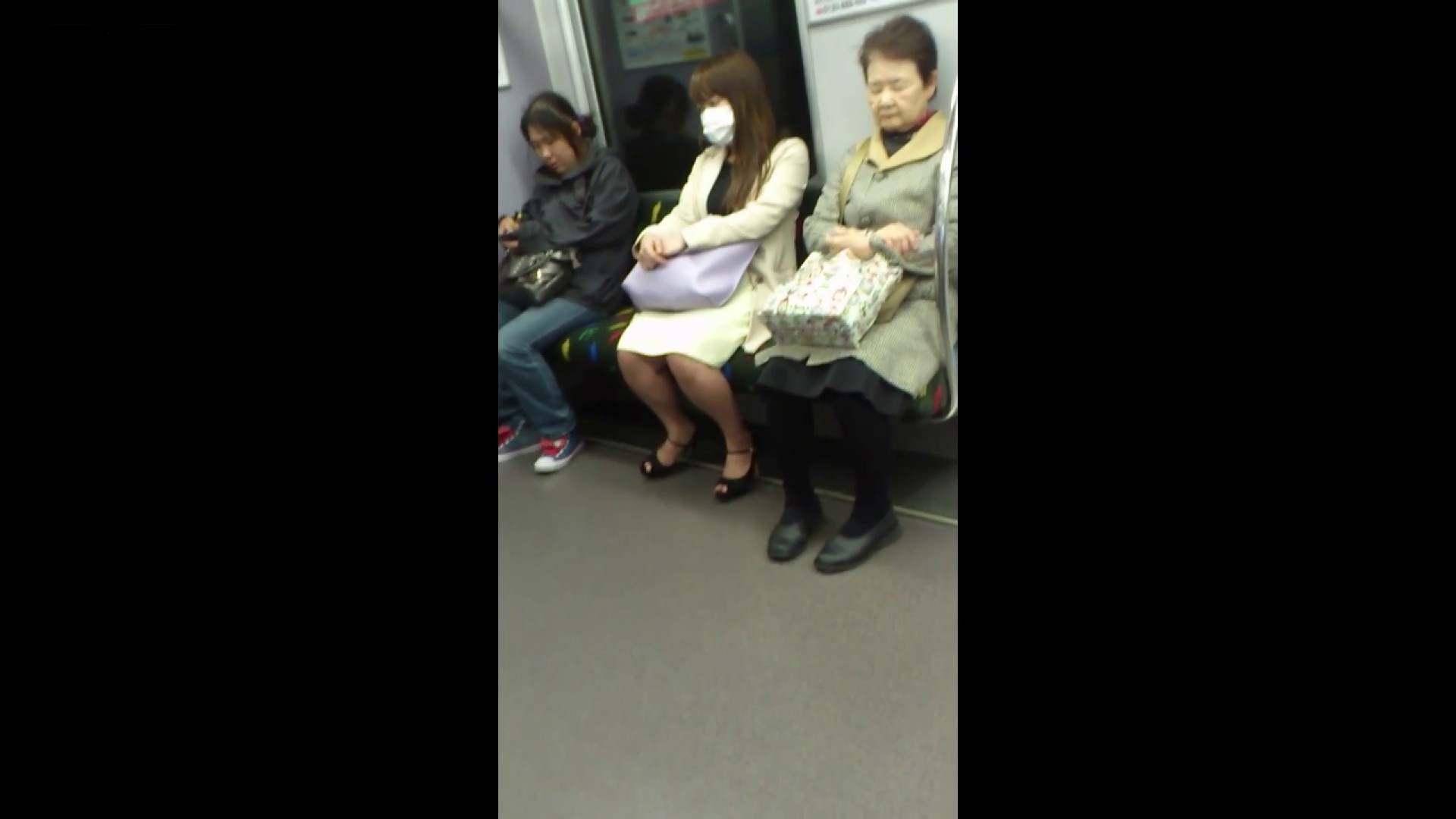 盗撮列車 Vol.55 黄色の爽やかなスカートが大好きです。 ギャル達 戯れ無修正画像 89枚 62