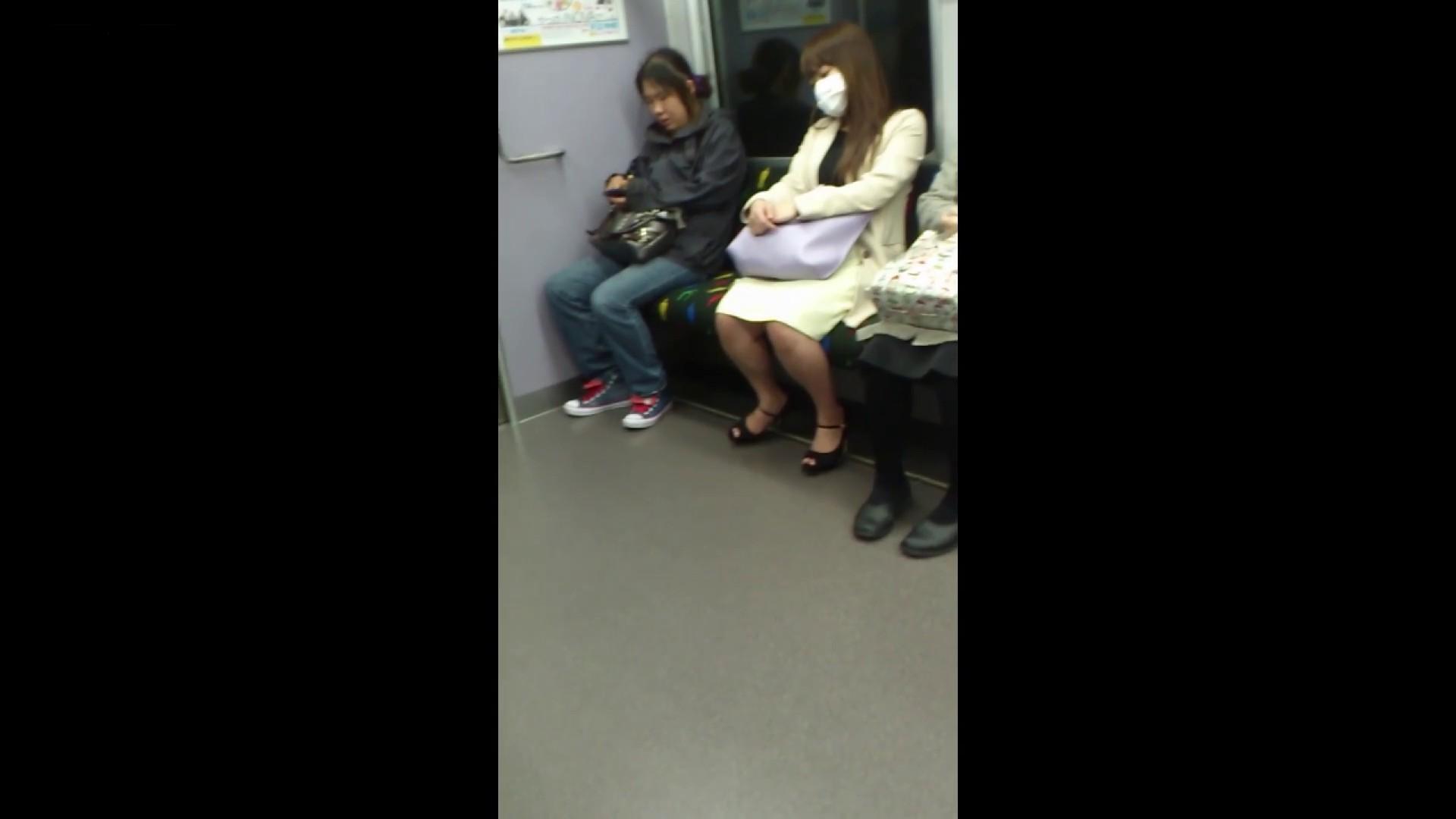 盗撮列車 Vol.55 黄色の爽やかなスカートが大好きです。 盗撮編 AV無料動画キャプチャ 89枚 64