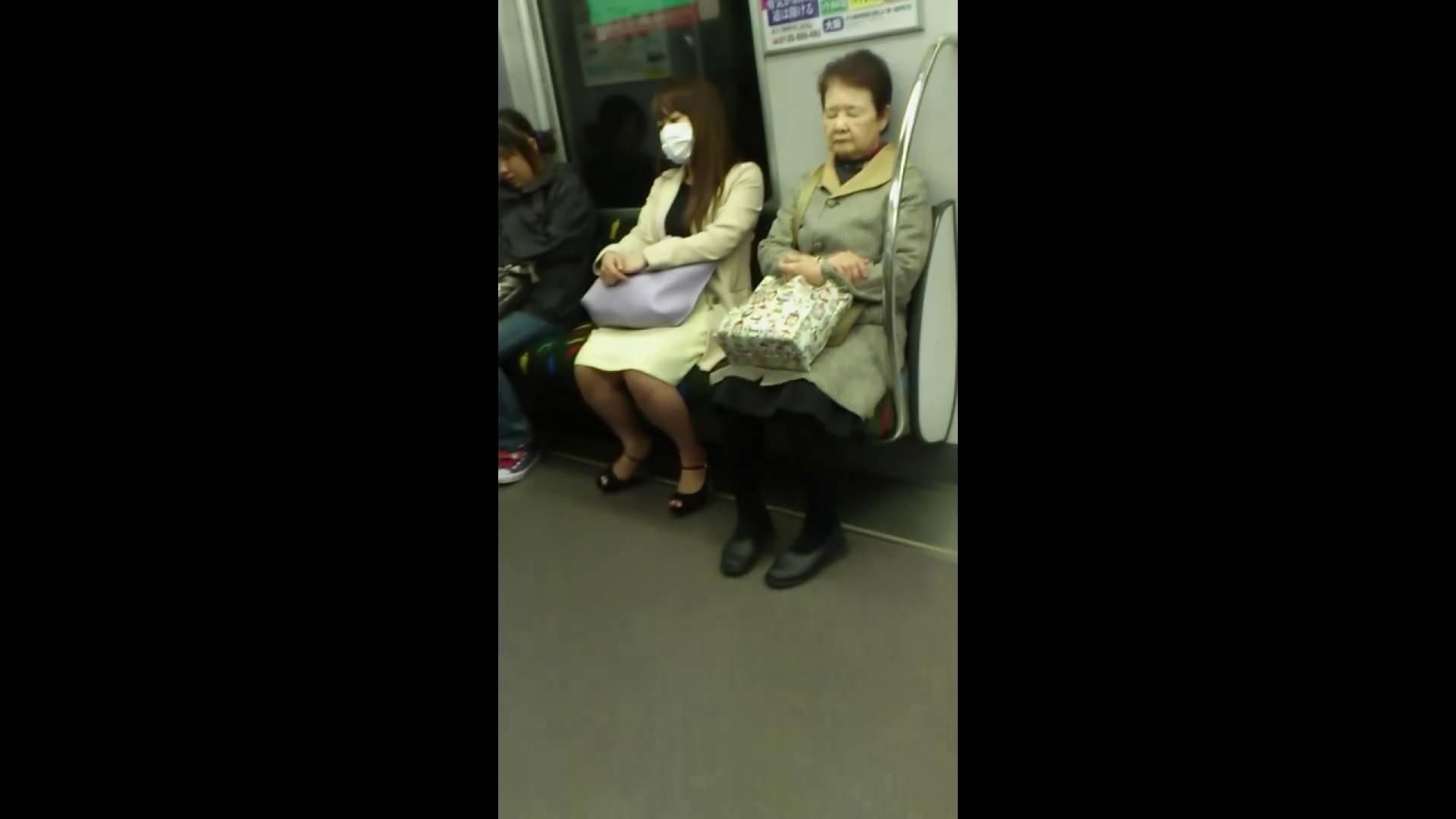 盗撮列車 Vol.55 黄色の爽やかなスカートが大好きです。 パンチラ女子 濡れ場動画紹介 89枚 65