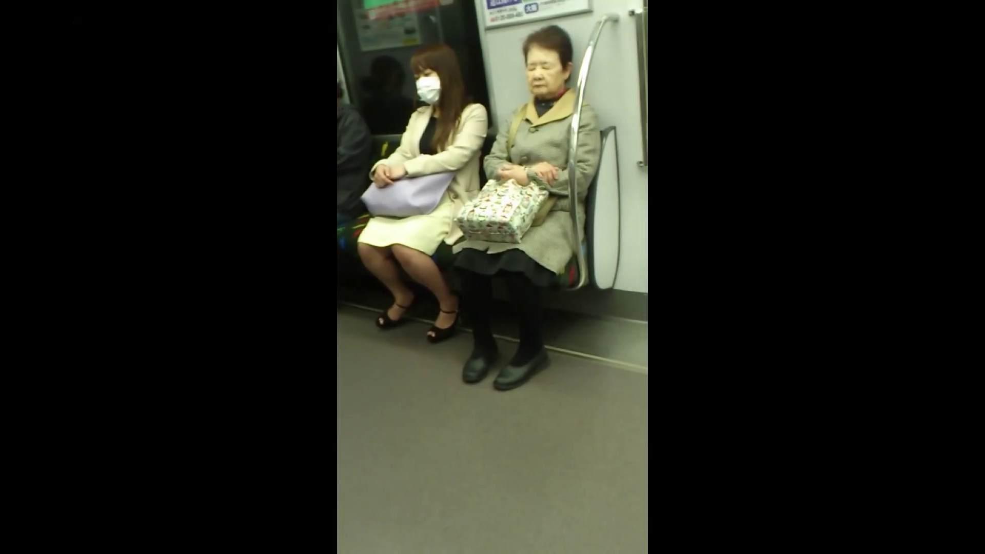 盗撮列車 Vol.55 黄色の爽やかなスカートが大好きです。 むっちりガール  89枚 66