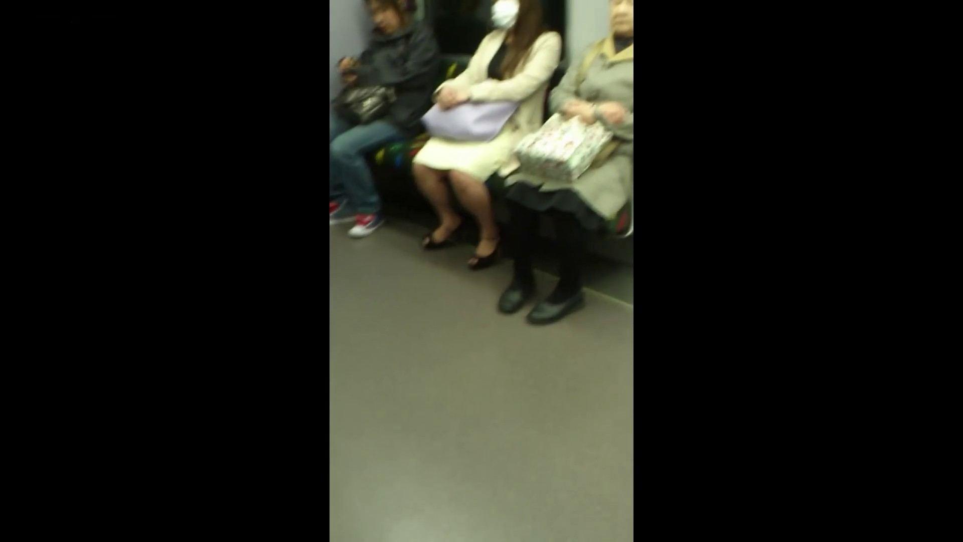 盗撮列車 Vol.55 黄色の爽やかなスカートが大好きです。 むっちりガール | 車で・・・  89枚 67