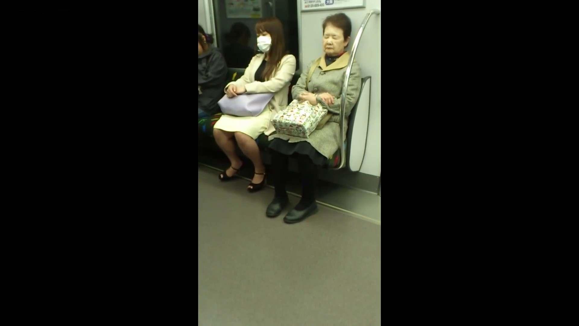 盗撮列車 Vol.55 黄色の爽やかなスカートが大好きです。 ギャル達 戯れ無修正画像 89枚 74