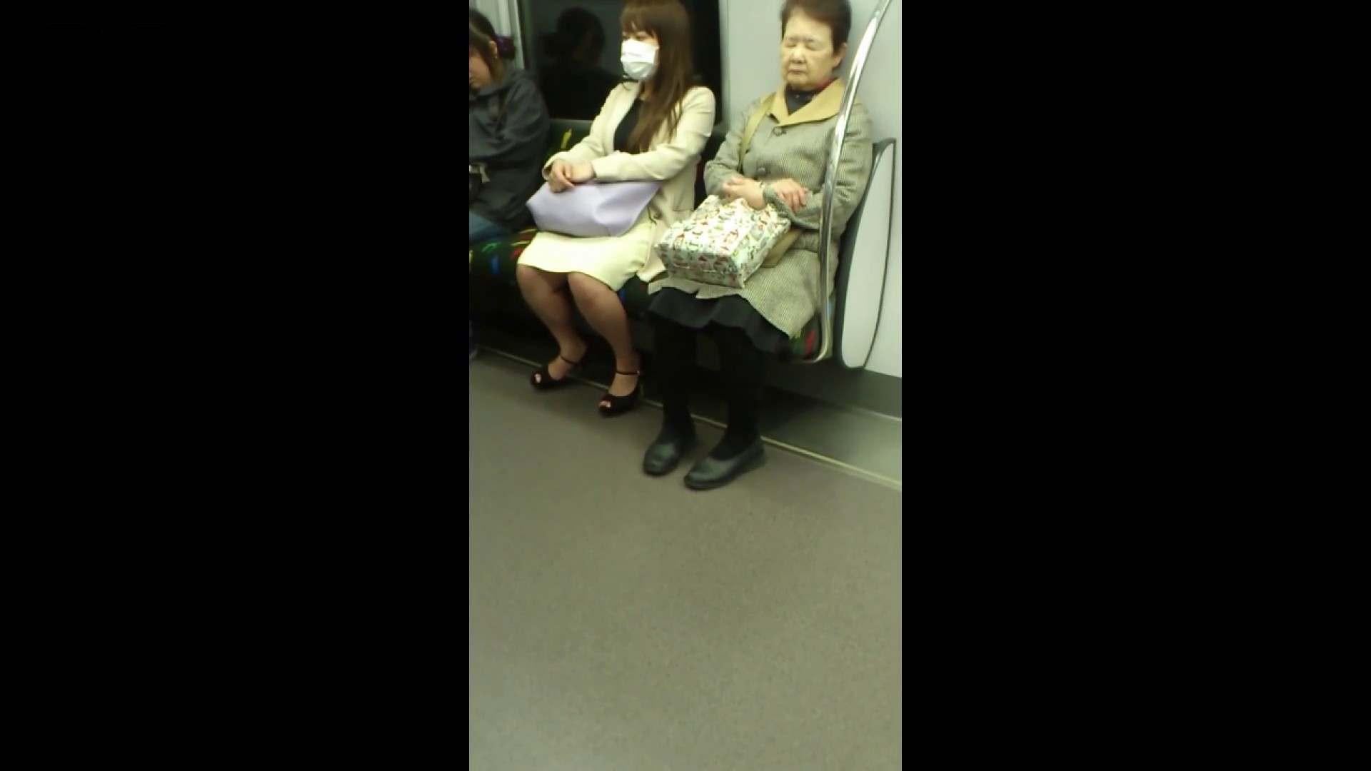 盗撮列車 Vol.55 黄色の爽やかなスカートが大好きです。 パンチラ女子 濡れ場動画紹介 89枚 77