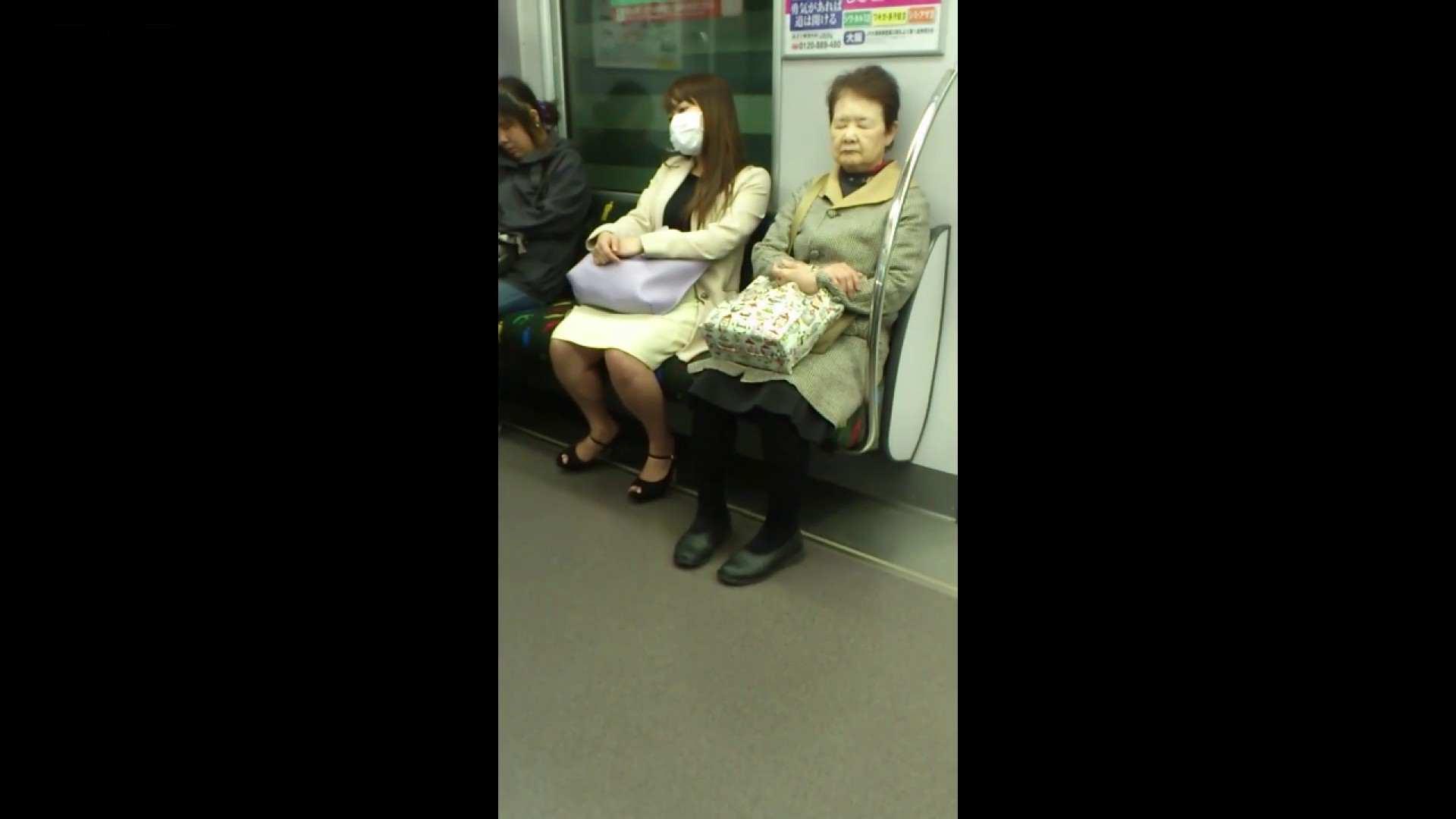 盗撮列車 Vol.55 黄色の爽やかなスカートが大好きです。 むっちりガール  89枚 84