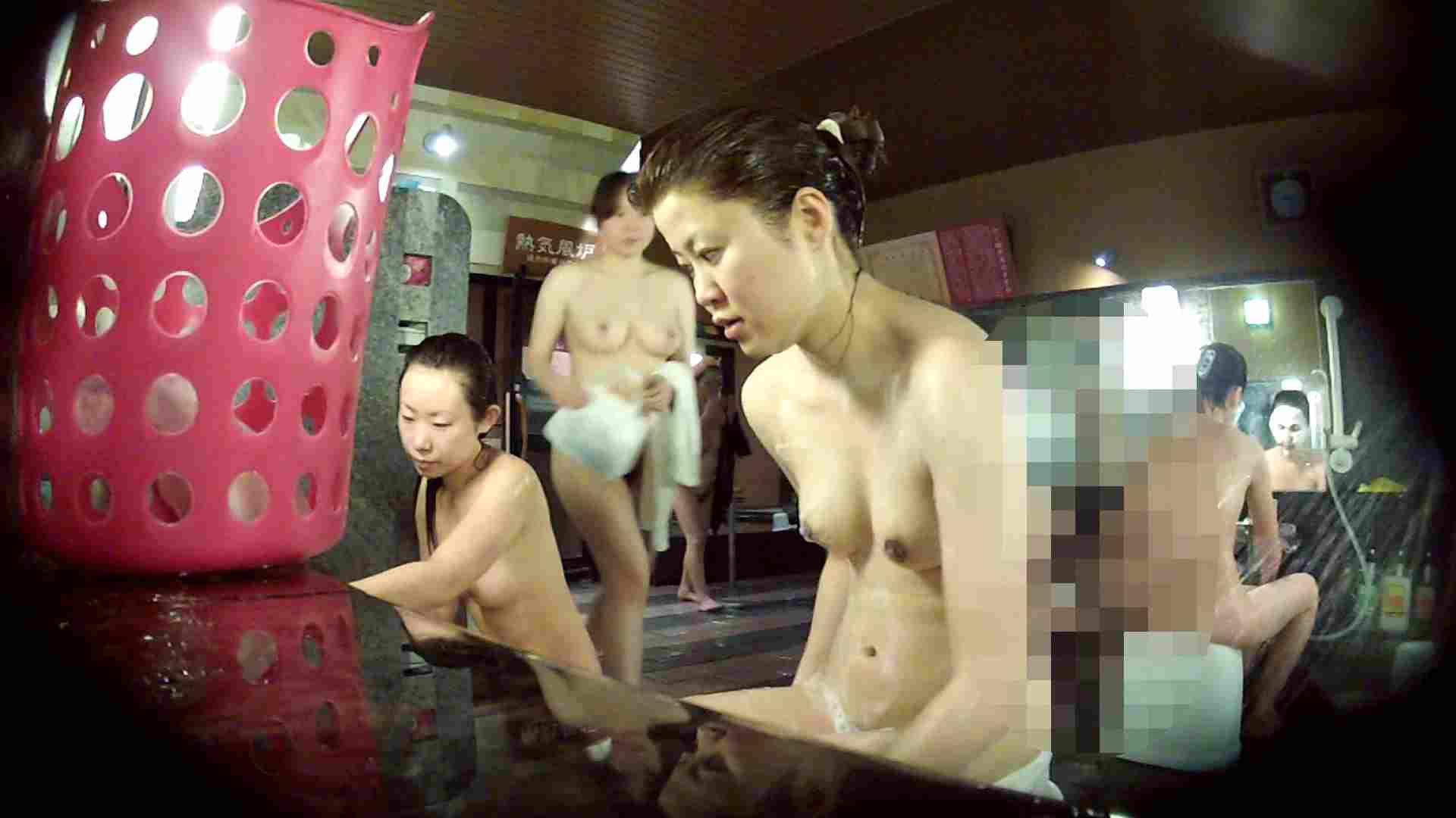 ハイビジョン 洗い場!No.1 うっすら覗く一本道×2 細身体型 ワレメ動画紹介 90枚 66