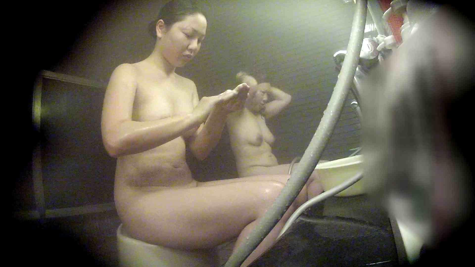 洗い場!なんとも特徴のない女性だけに申し訳ない 女湯のぞき 濡れ場動画紹介 77枚 77