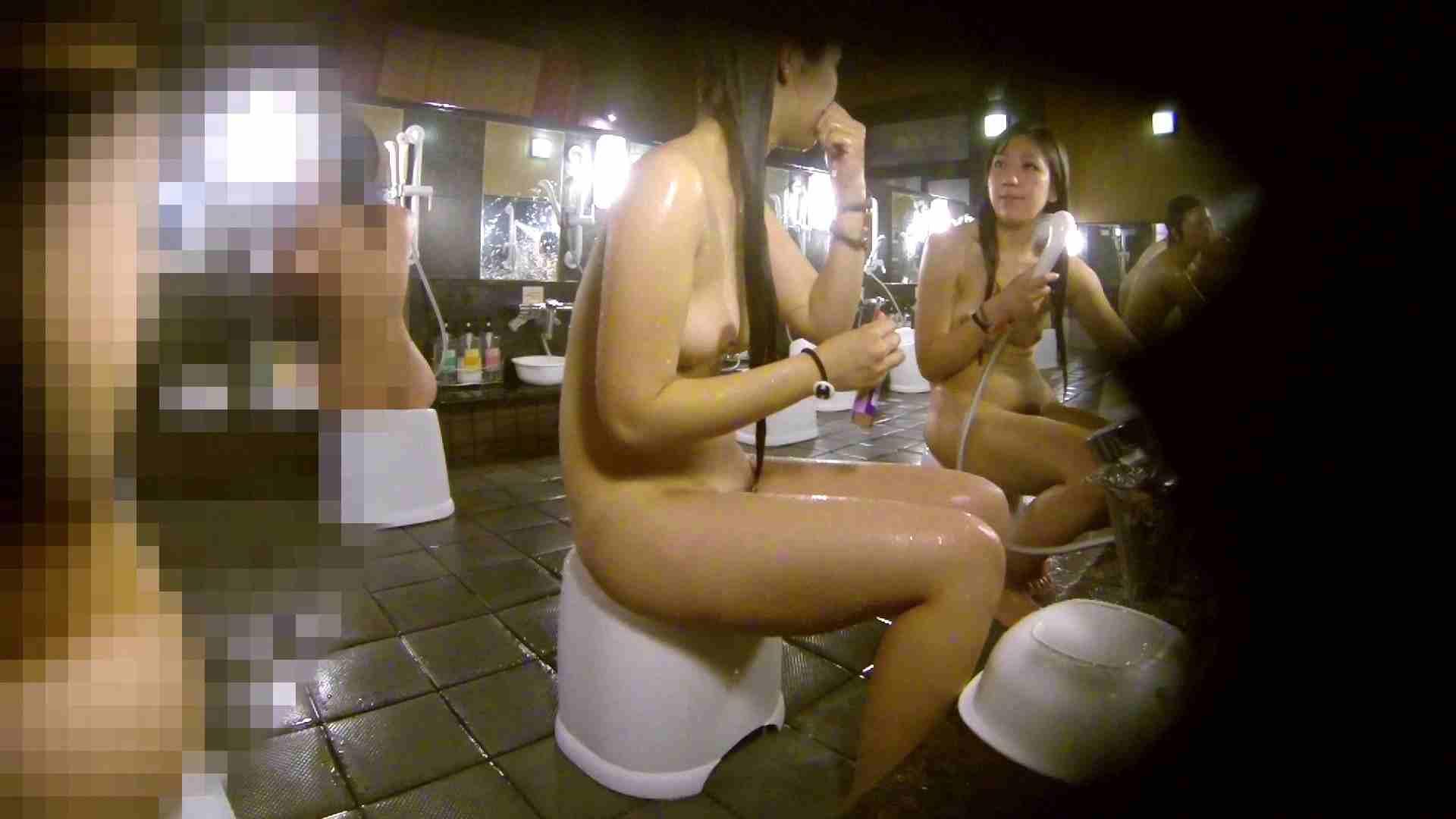 洗い場!ムッチリギャル2人組!ご飯だけでも一緒に行きたい 細身体型 AV動画キャプチャ 76枚 28