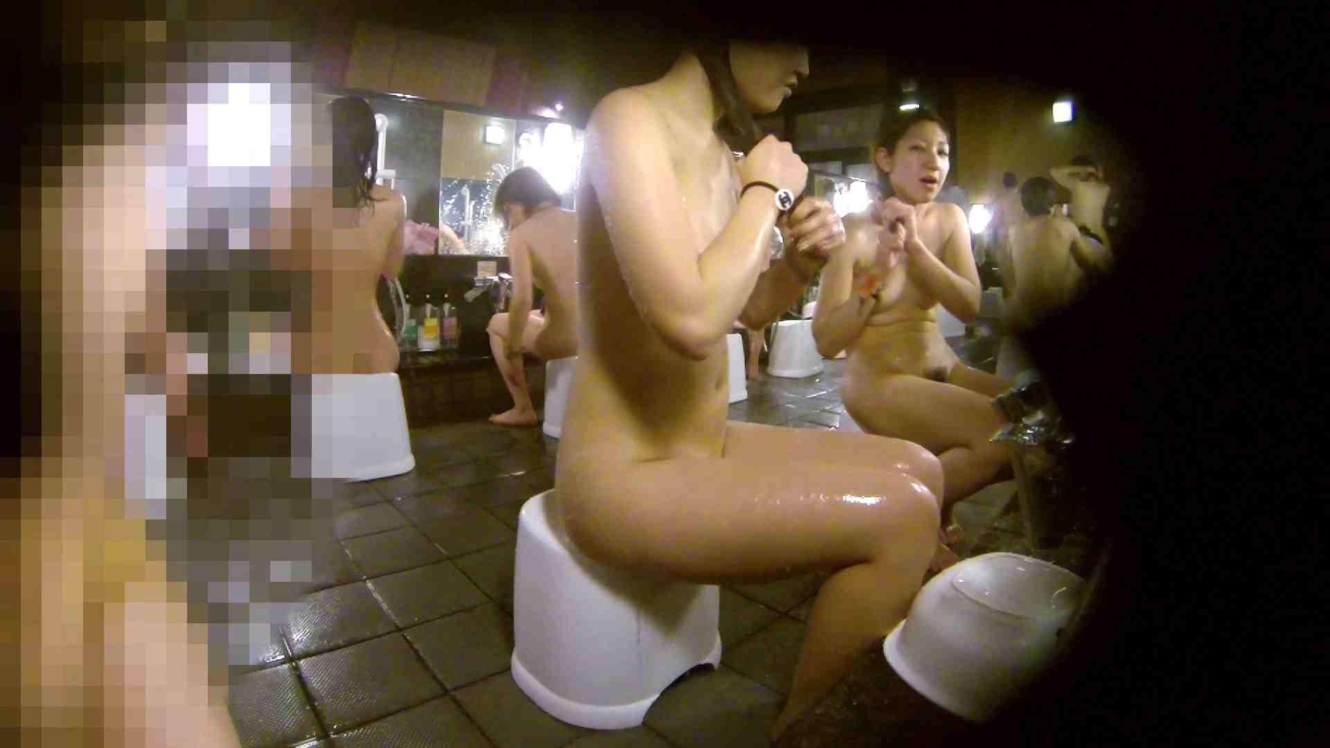洗い場!ムッチリギャル2人組!ご飯だけでも一緒に行きたい 女湯のぞき AV無料 76枚 39