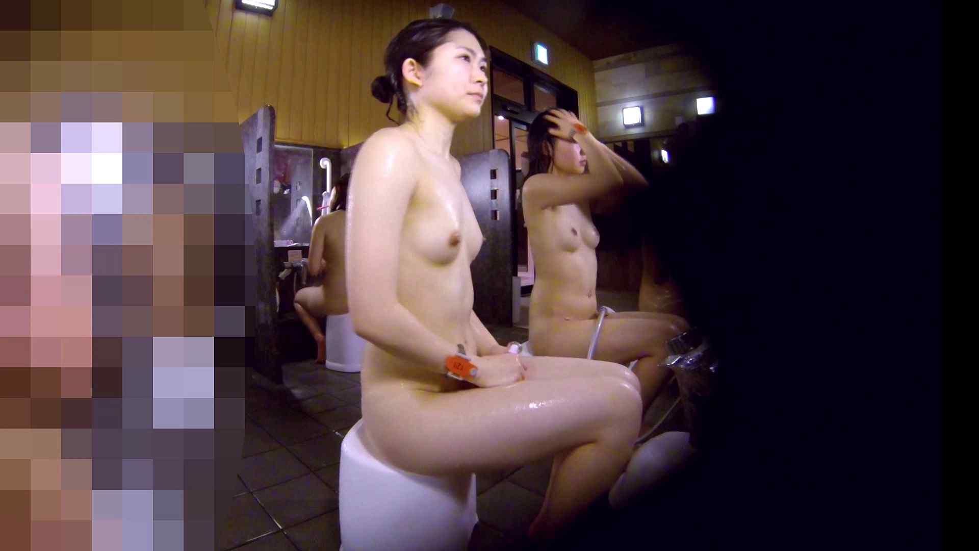 洗い場!眉しっかりの和風美人、奥の嬢も気になります! 潜入 ワレメ無修正動画無料 101枚 11