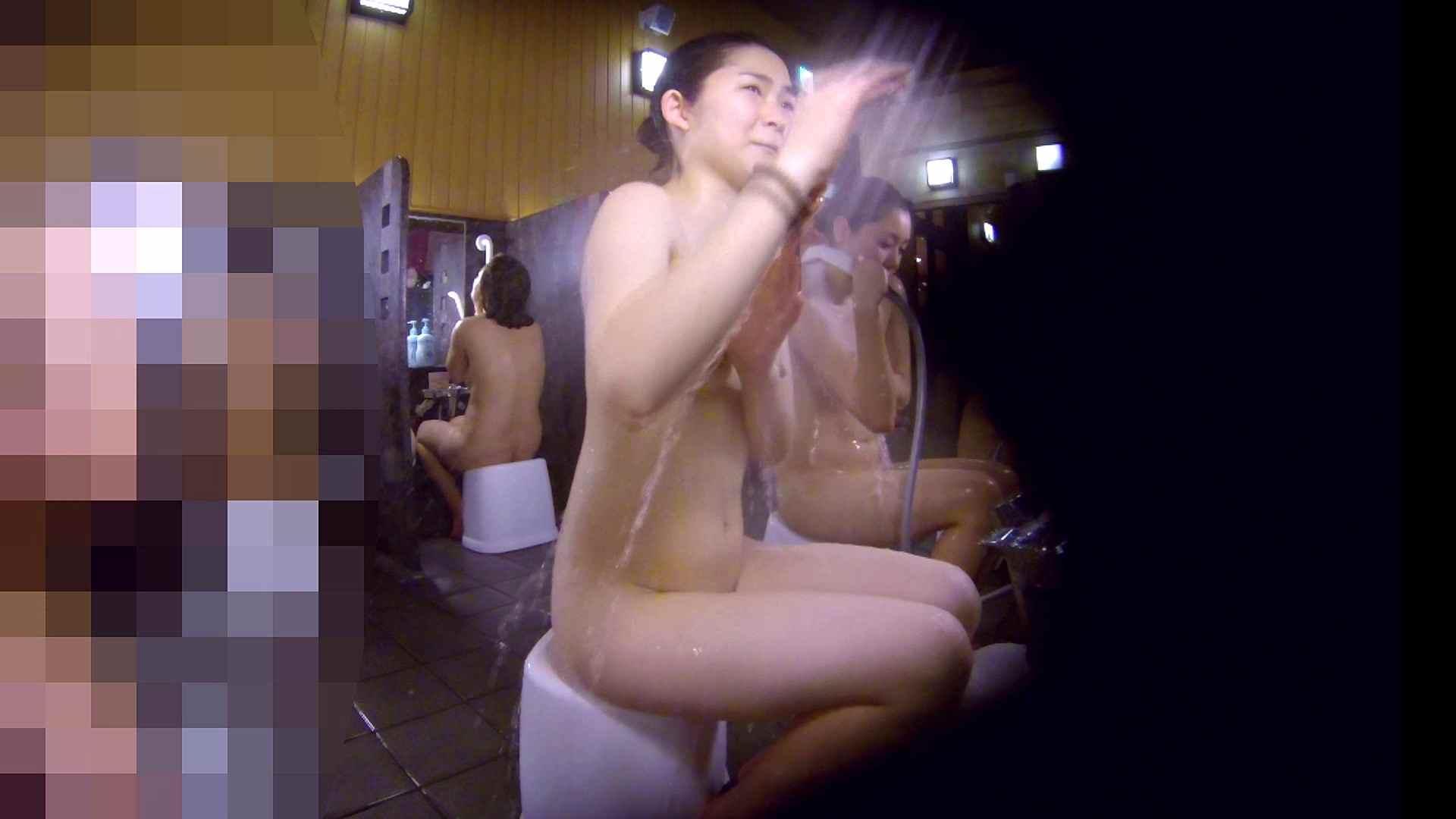 洗い場!眉しっかりの和風美人、奥の嬢も気になります! 潜入 ワレメ無修正動画無料 101枚 32
