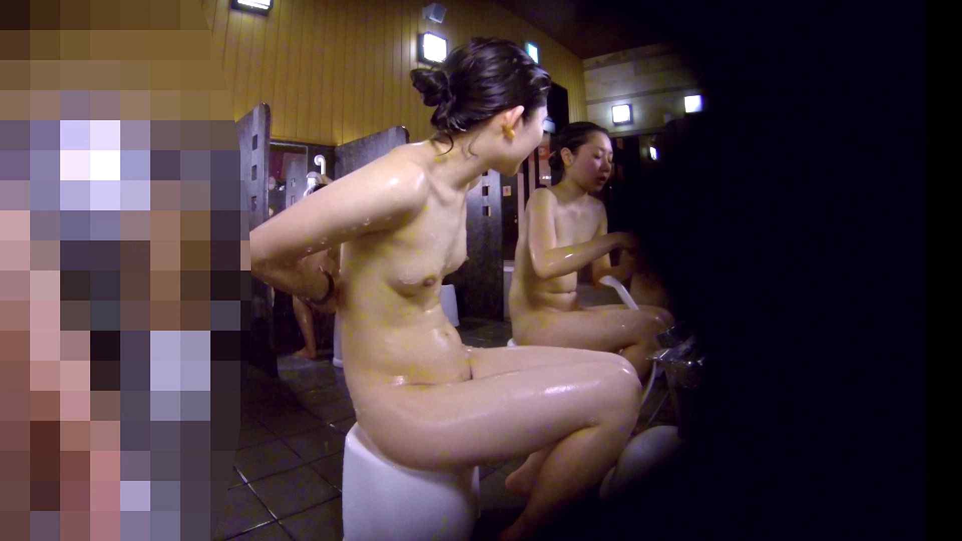 洗い場!眉しっかりの和風美人、奥の嬢も気になります! 潜入 ワレメ無修正動画無料 101枚 60
