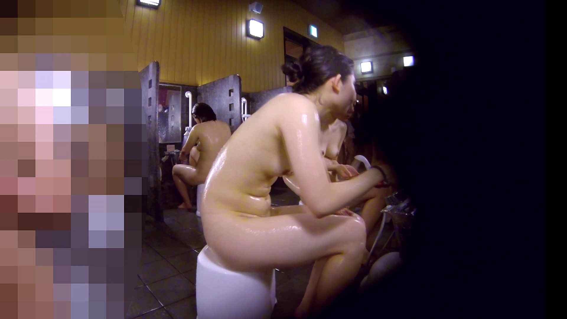 洗い場!眉しっかりの和風美人、奥の嬢も気になります! 潜入 ワレメ無修正動画無料 101枚 74
