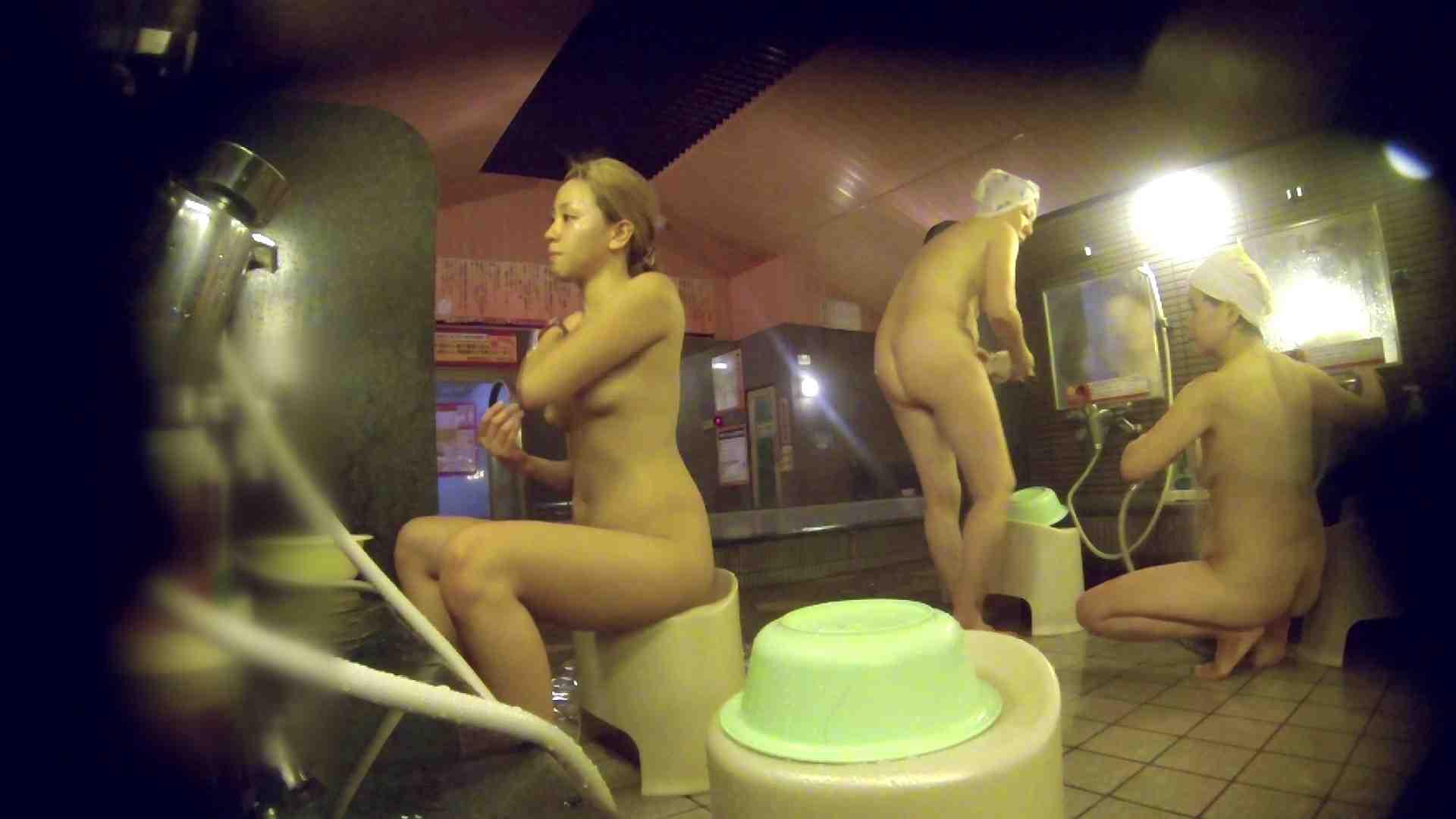 洗い場!意外に今までいなかった金髪ギャル 女湯のぞき おまんこ無修正動画無料 94枚 4