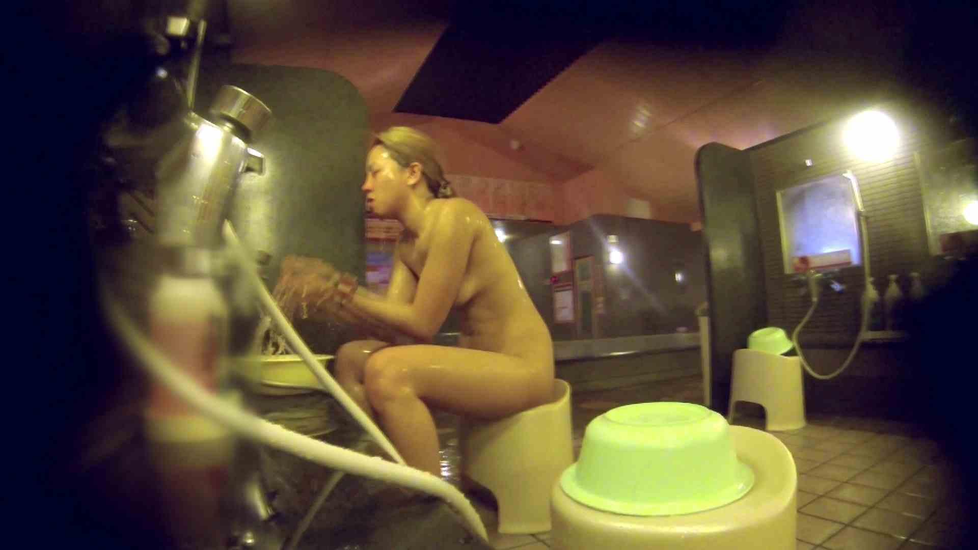 洗い場!意外に今までいなかった金髪ギャル 潜入 おまんこ動画流出 94枚 45