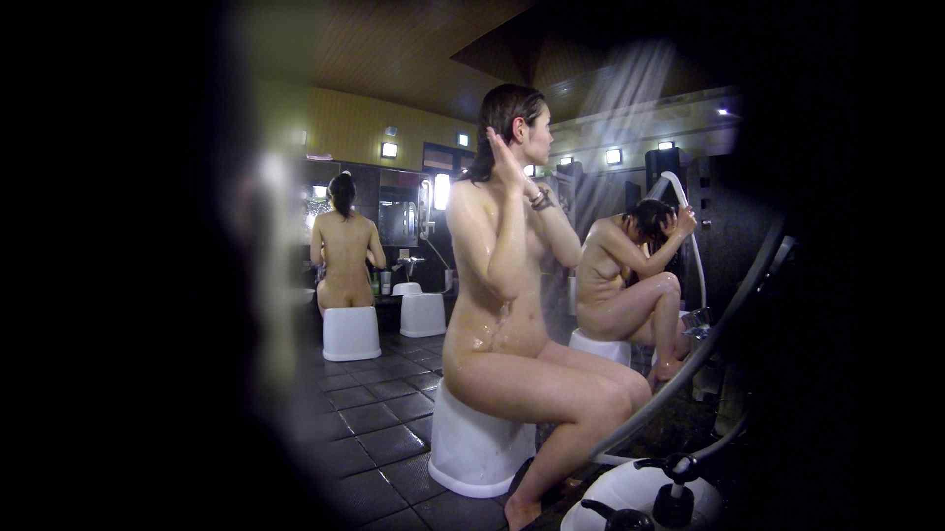 洗い場!好きです!ボリューム満点ボディーな感じが堪りません。 女湯のぞき エロ画像 87枚 39