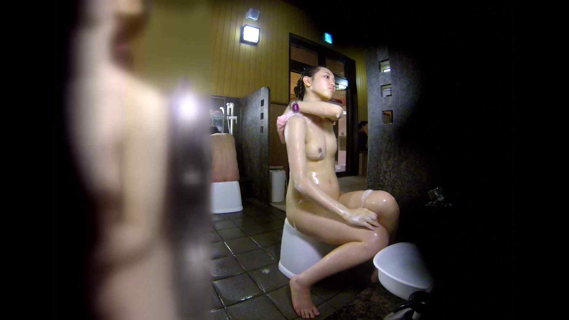 洗い場!チラチラ見てくる理想のボディの清楚さん 女湯のぞき エロ画像 79枚 10
