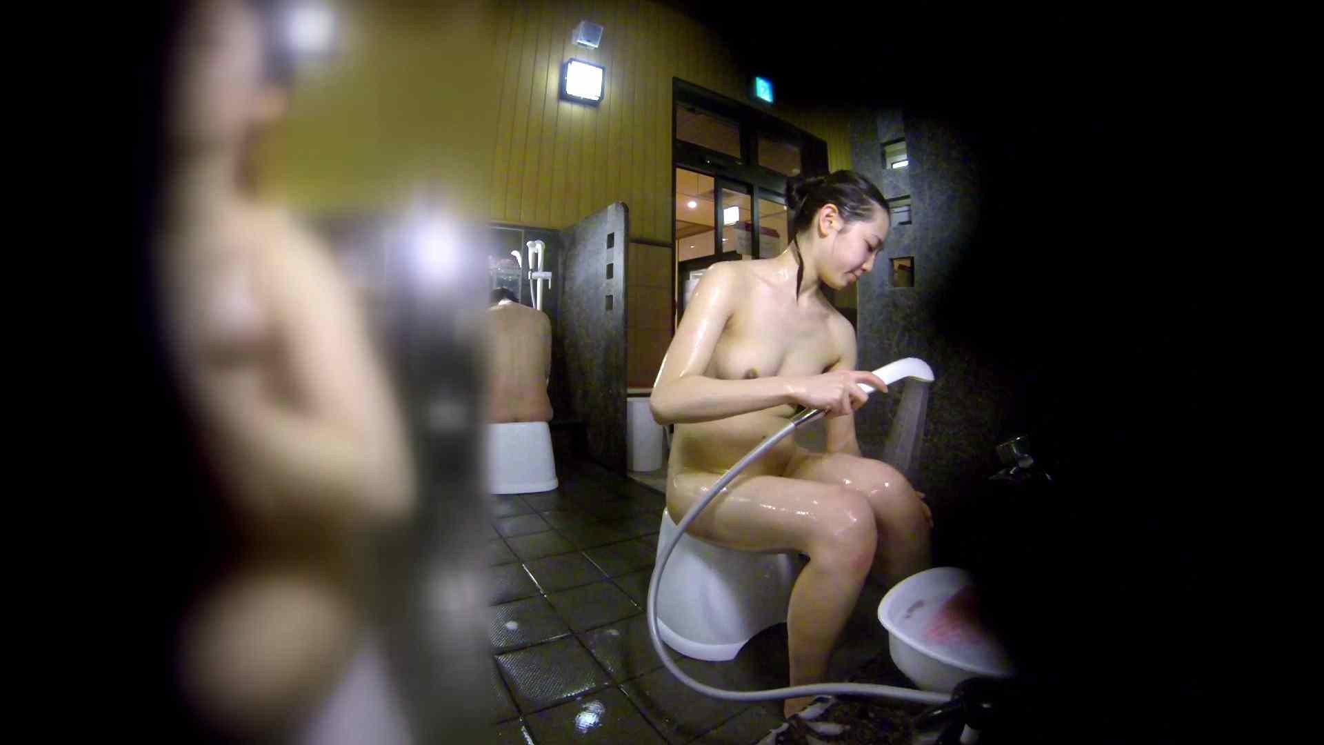 洗い場!チラチラ見てくる理想のボディの清楚さん 女湯のぞき エロ画像 79枚 59