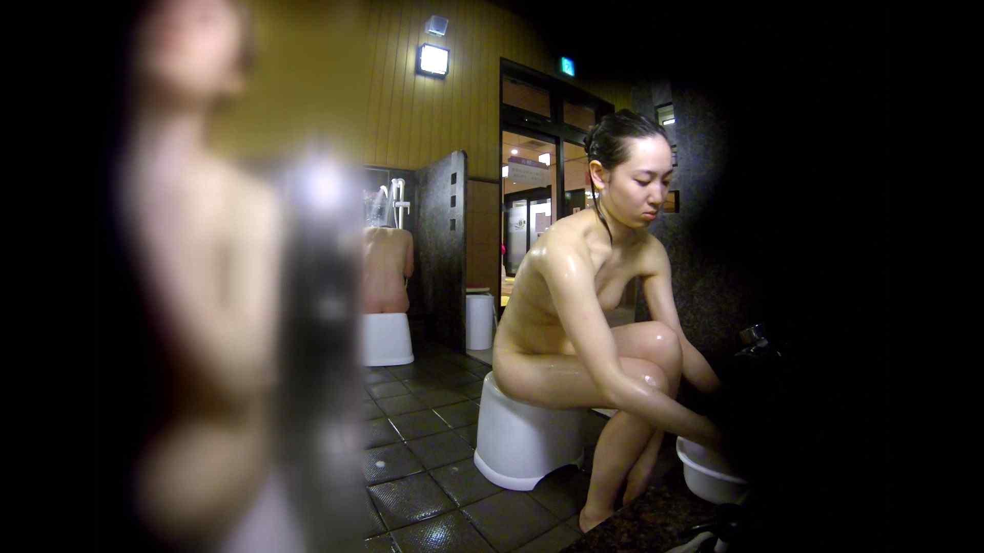 洗い場!チラチラ見てくる理想のボディの清楚さん 女湯のぞき エロ画像 79枚 66