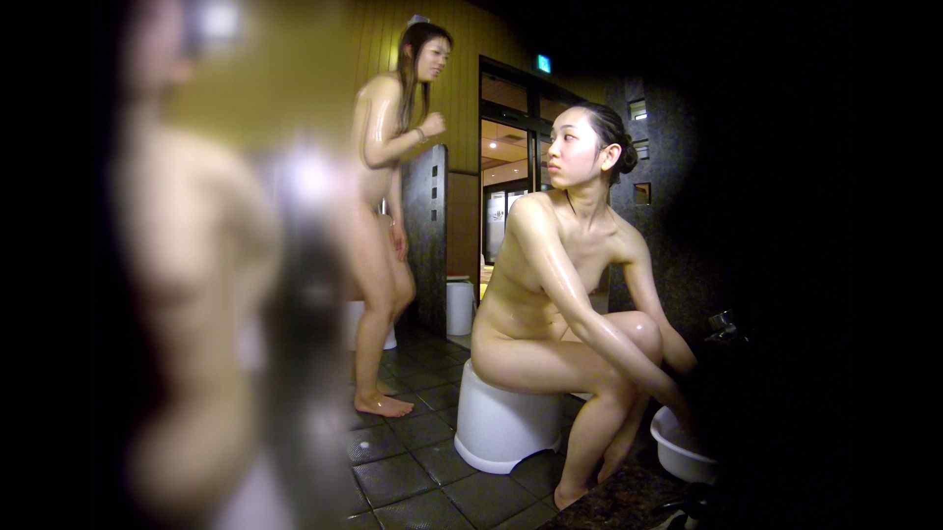 洗い場!チラチラ見てくる理想のボディの清楚さん 女湯のぞき エロ画像 79枚 73