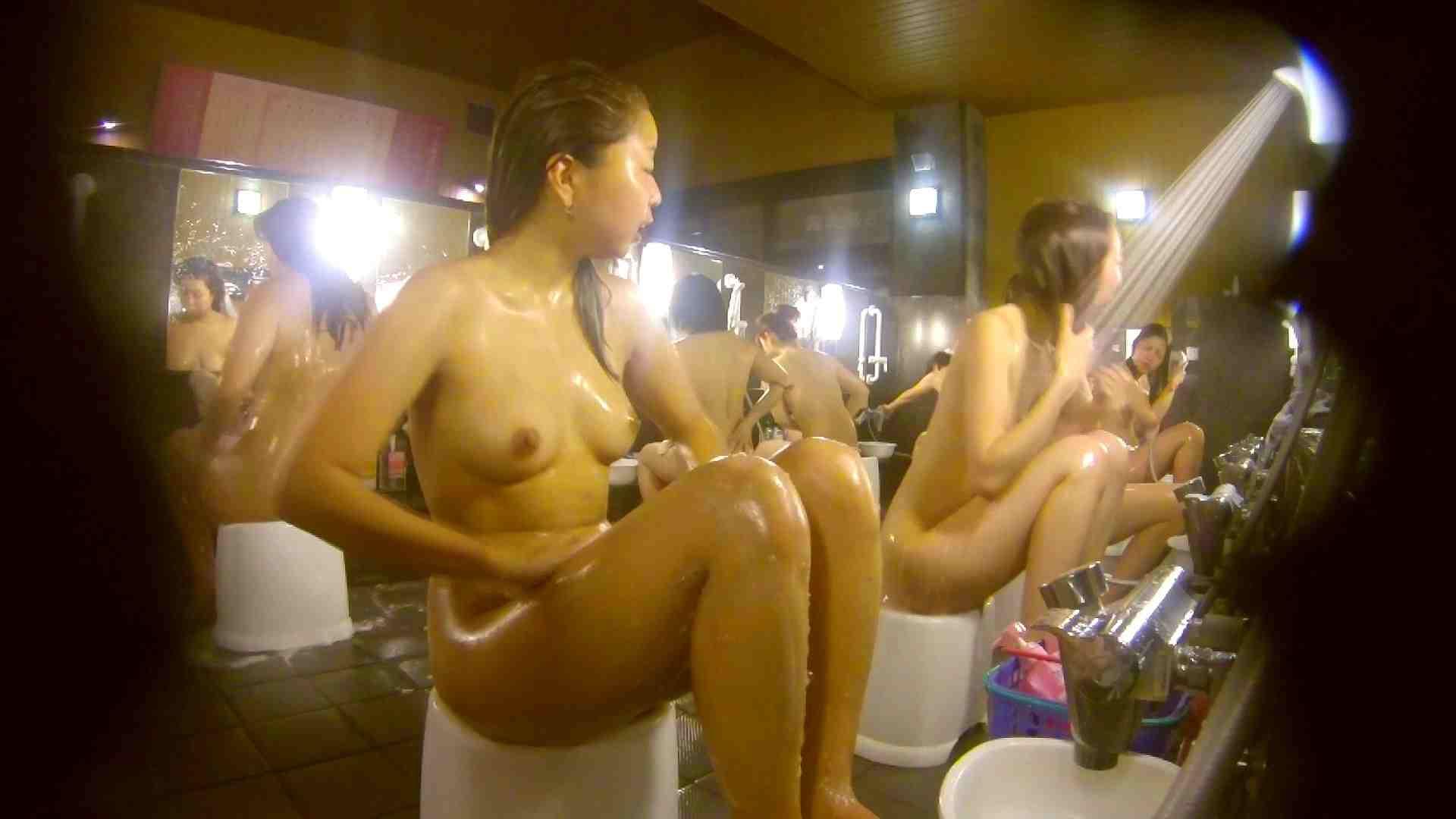 追い撮り!脱衣~洗い場、そして着替え、髪を乾かすまで完全追跡。 銭湯事情   美肌  84枚 45